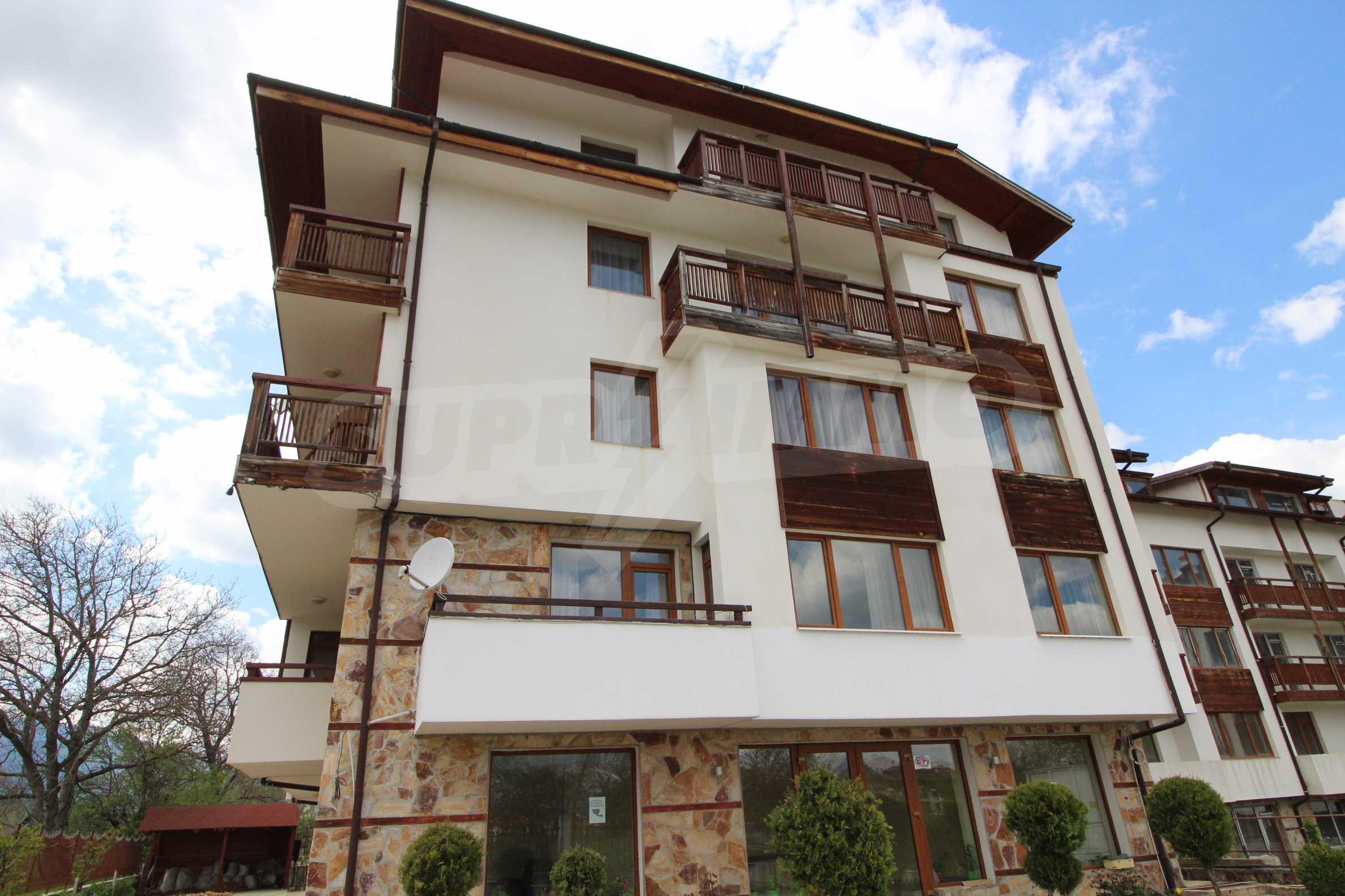 Нов едностаен апартамент в ски курорта Банско 10