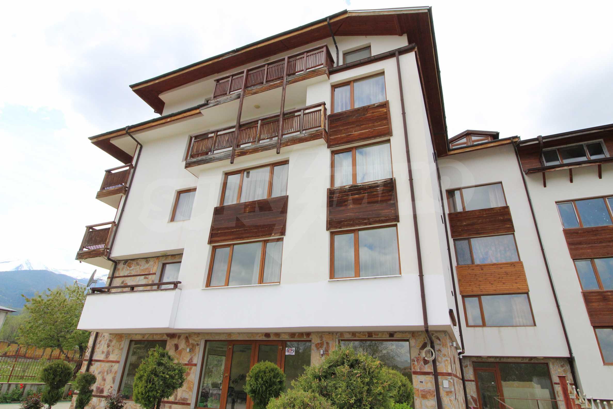Нов едностаен апартамент в ски курорта Банско 11