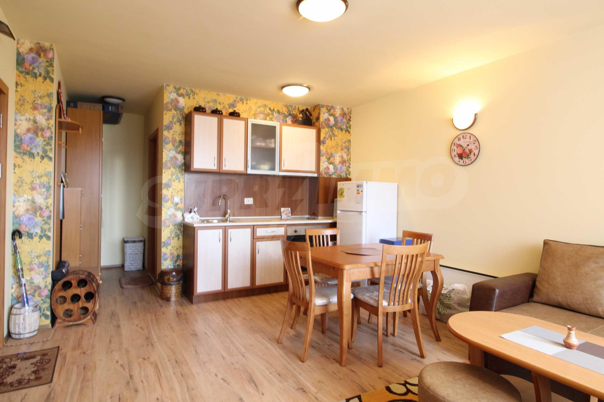 Нов едностаен апартамент в ски курорта Банско 3