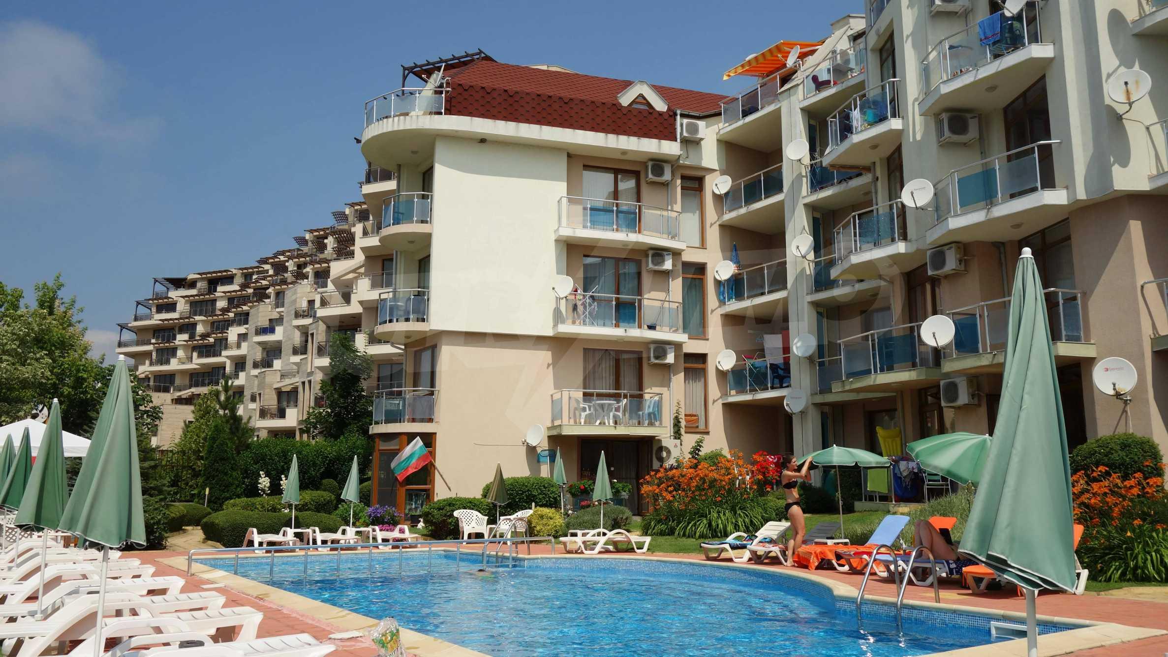 Apartment mit einem Schlafzimmer im Starfish Complex in Sveti Vlas