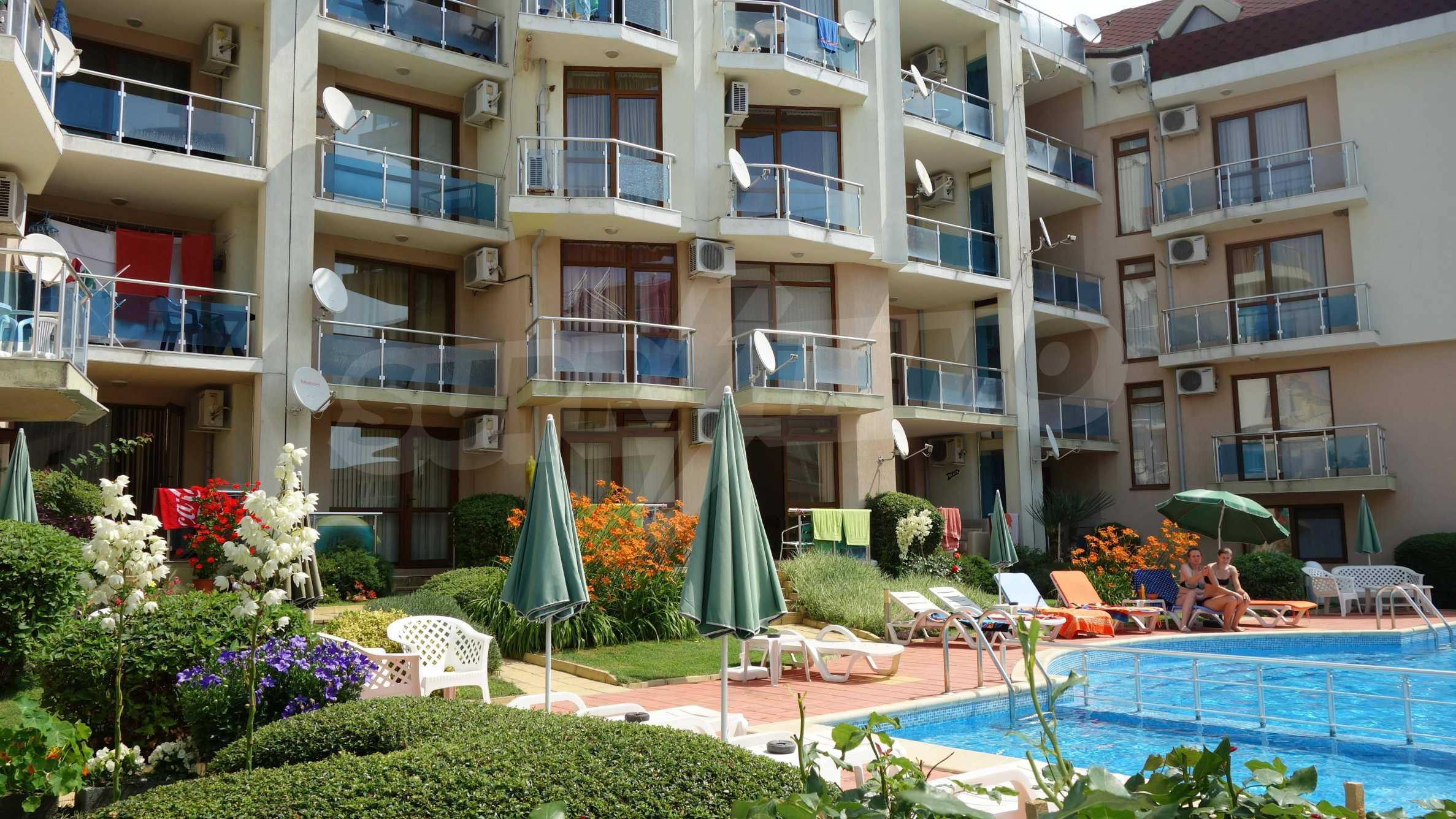 Apartment mit einem Schlafzimmer im Starfish Complex in Sveti Vlas 31