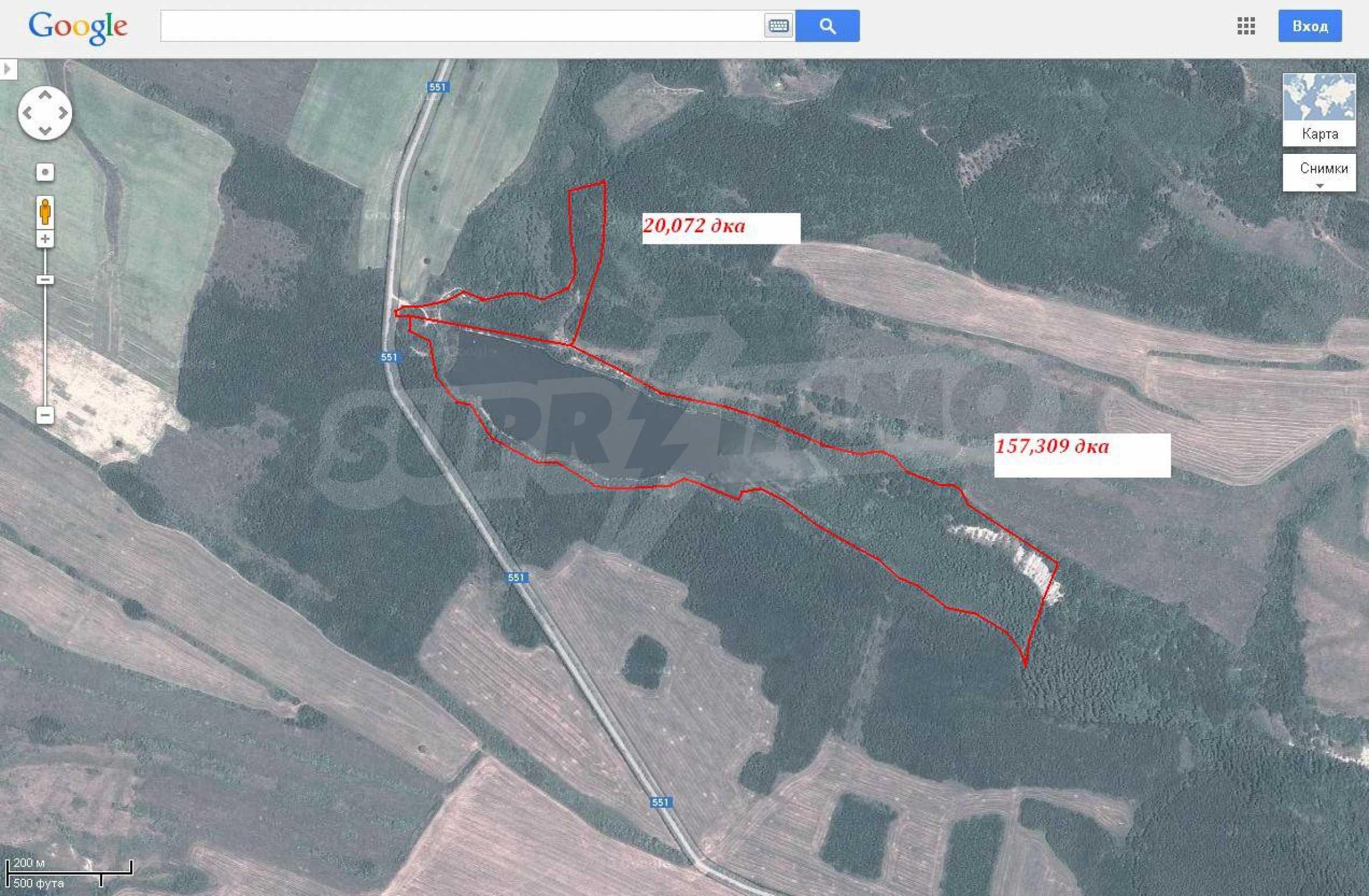 Язовир с прилежаща земя на 7 км от Велико Търново 13