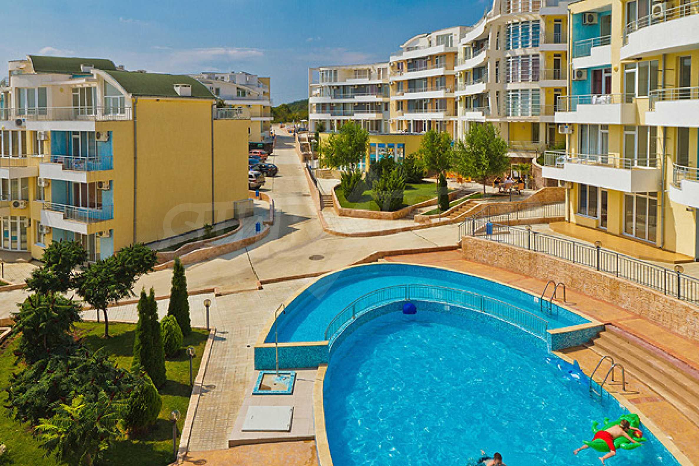 Sunset Kosharitsa - Apartments in einem attraktiven Berg- und Seekomplex, 5 Autominuten vom Sonnenstrand entfernt 34