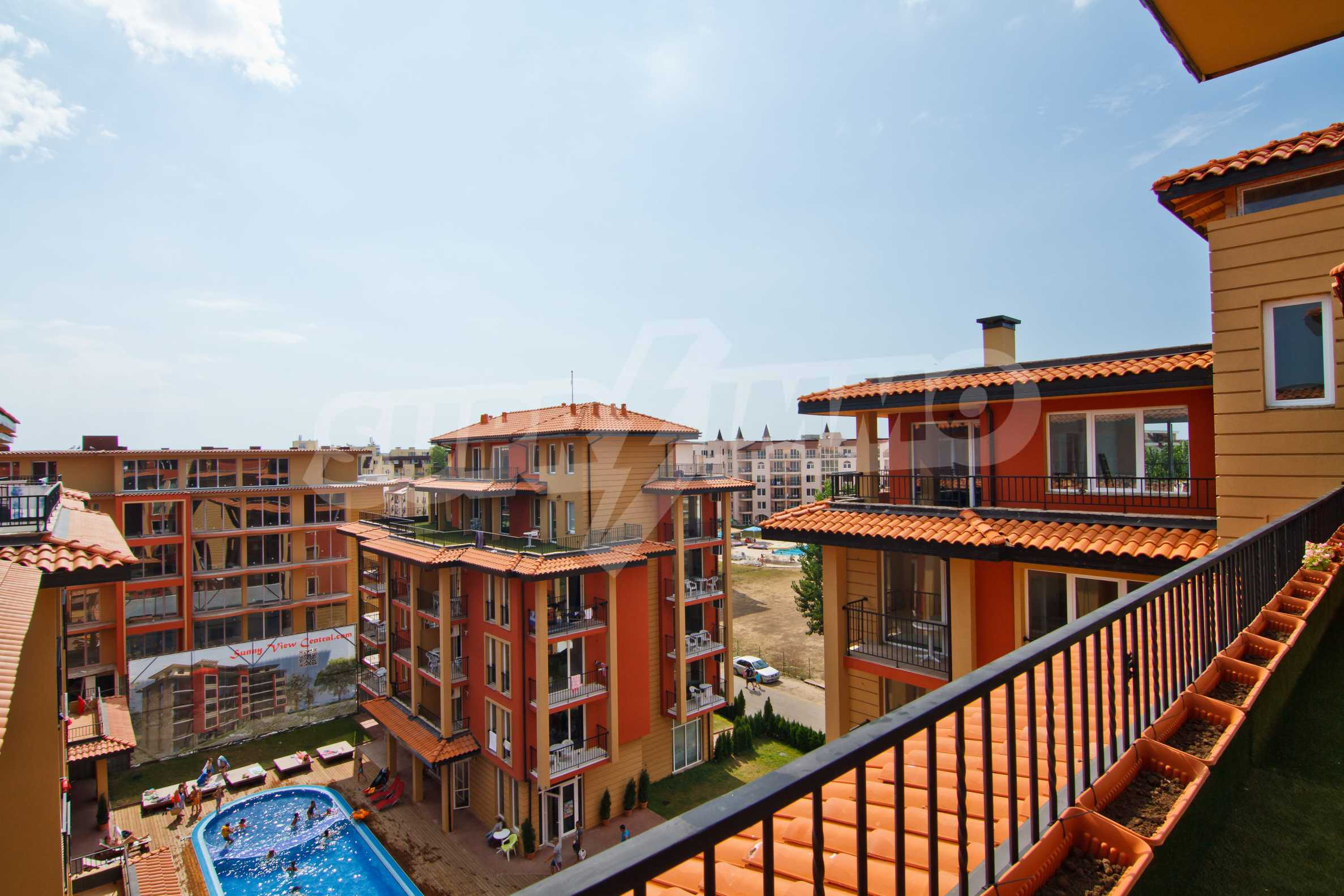 Newly furnished studio in Sunny View Central near Cacao Beach 1
