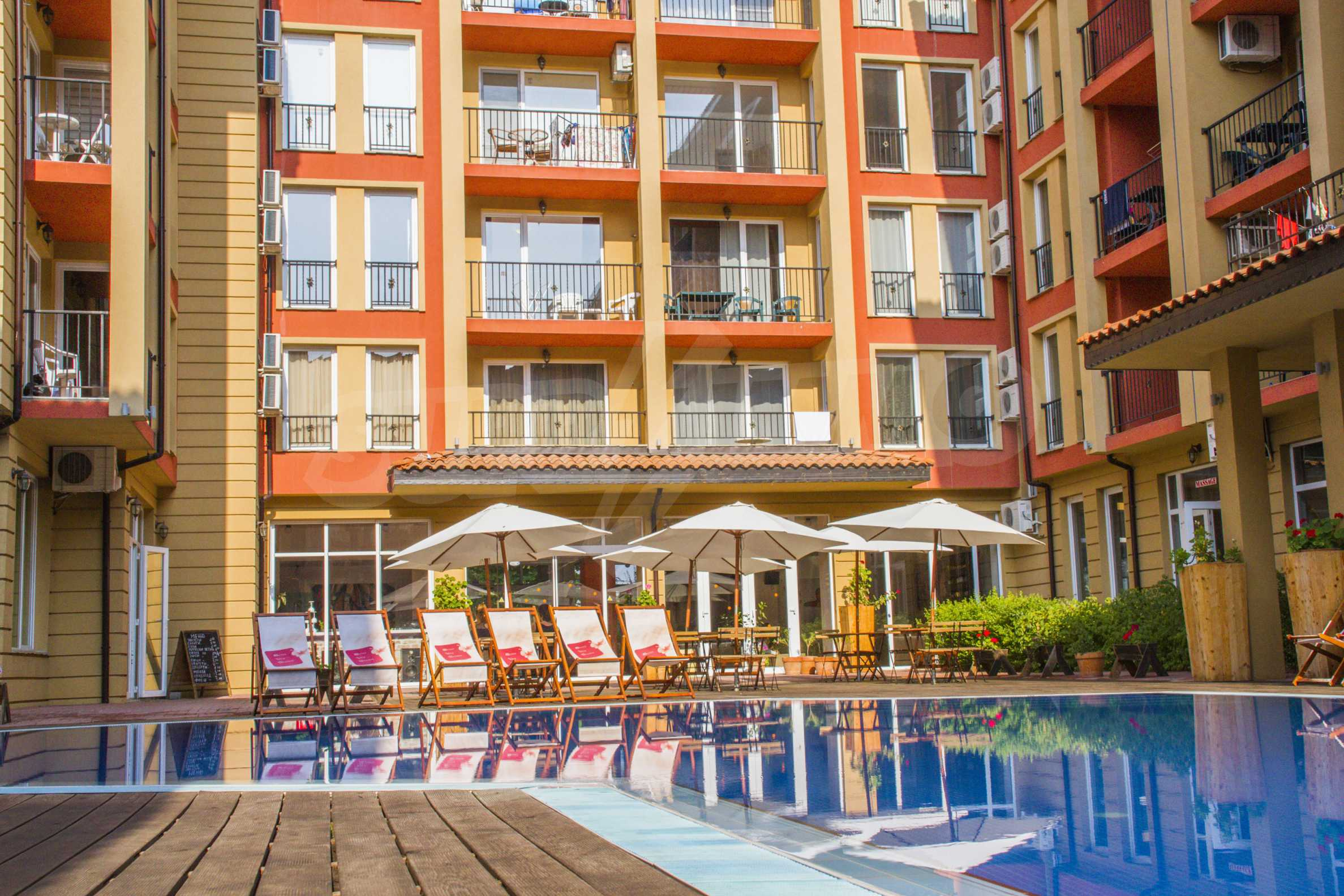 Newly furnished studio in Sunny View Central near Cacao Beach 11