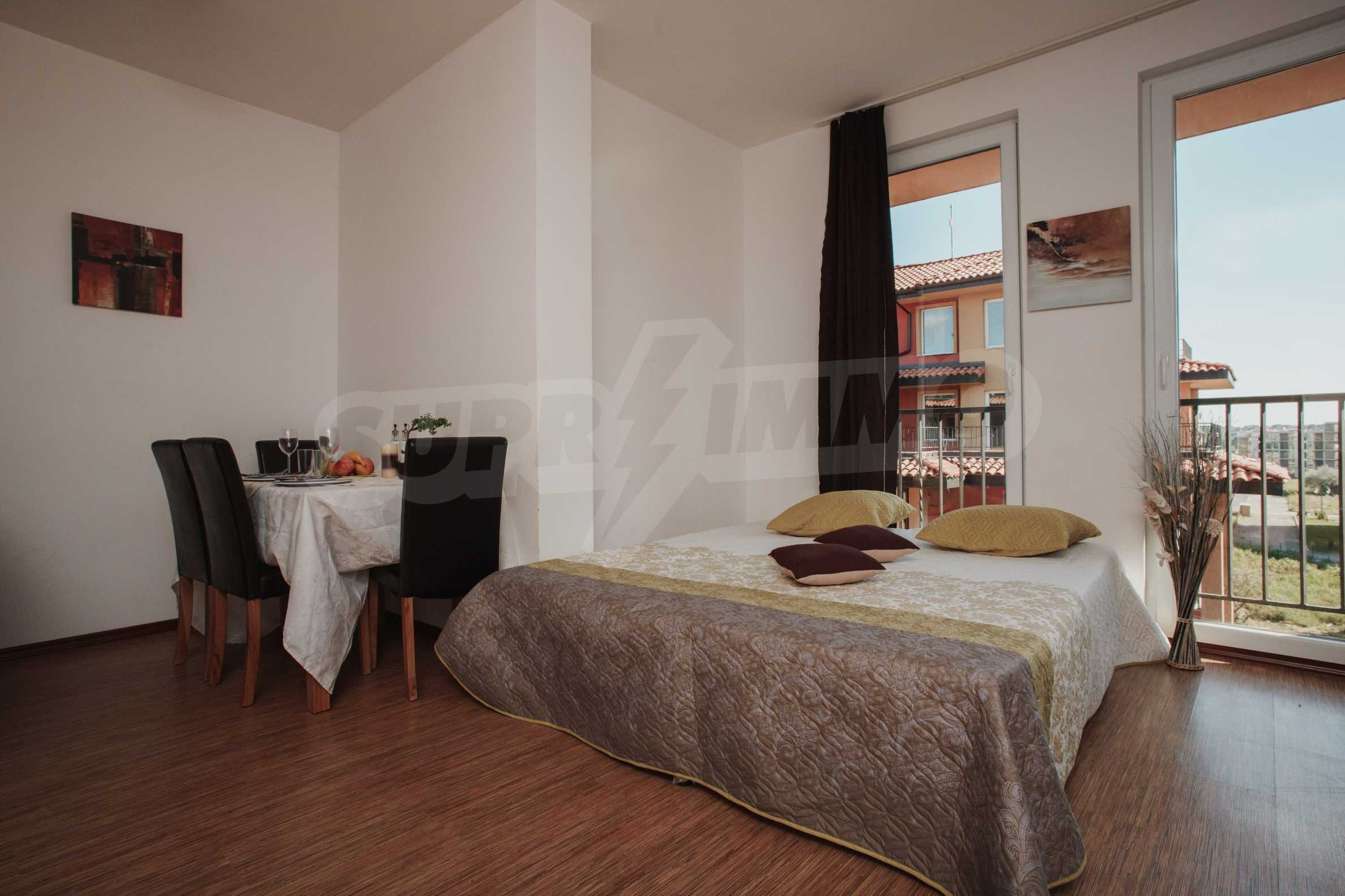 Newly furnished studio in Sunny View Central near Cacao Beach 14