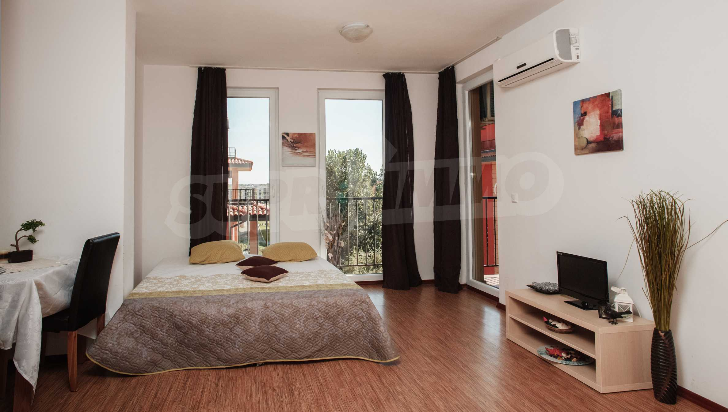 Newly furnished studio in Sunny View Central near Cacao Beach 15