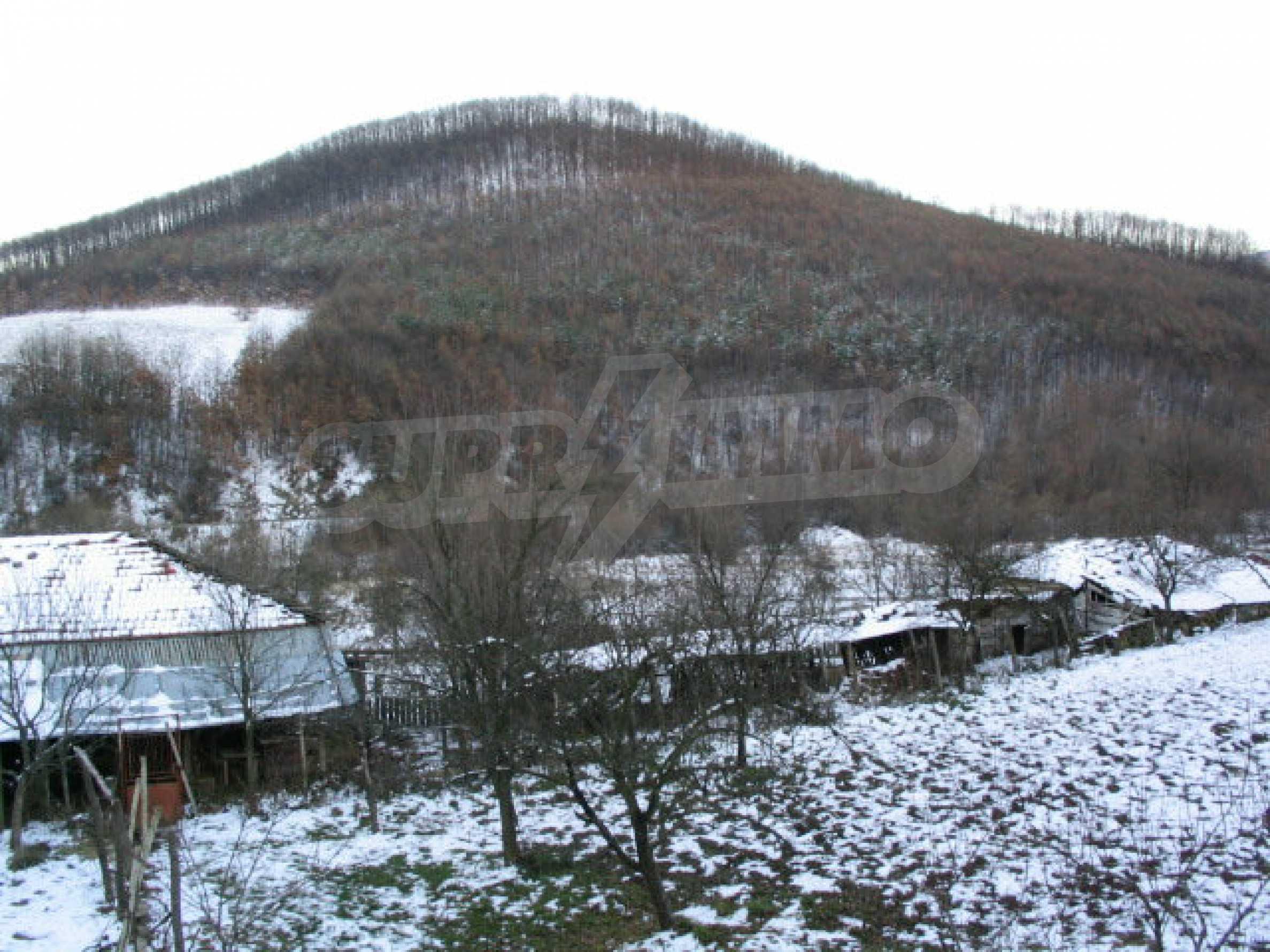 Zweistöckiges massives Haus mit Garage und neben einem kleinen Fluss im Herzen von Stara Planina 4