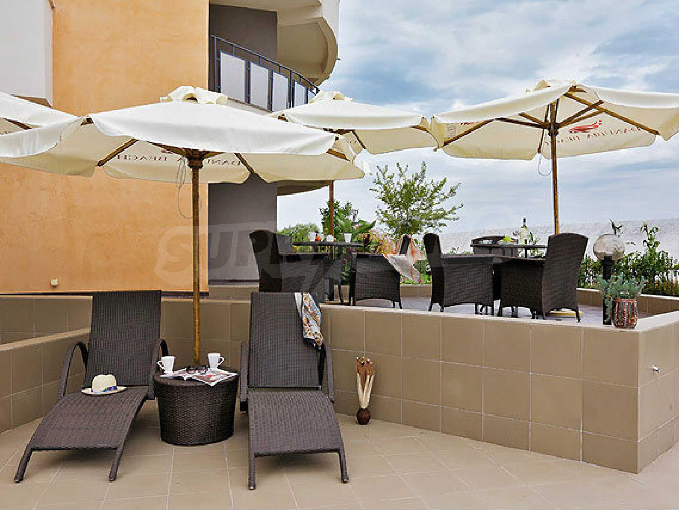 Café-Bar mit ausgestatteter Küche in Danubia Beach neben Widin und Fluss Donau 11