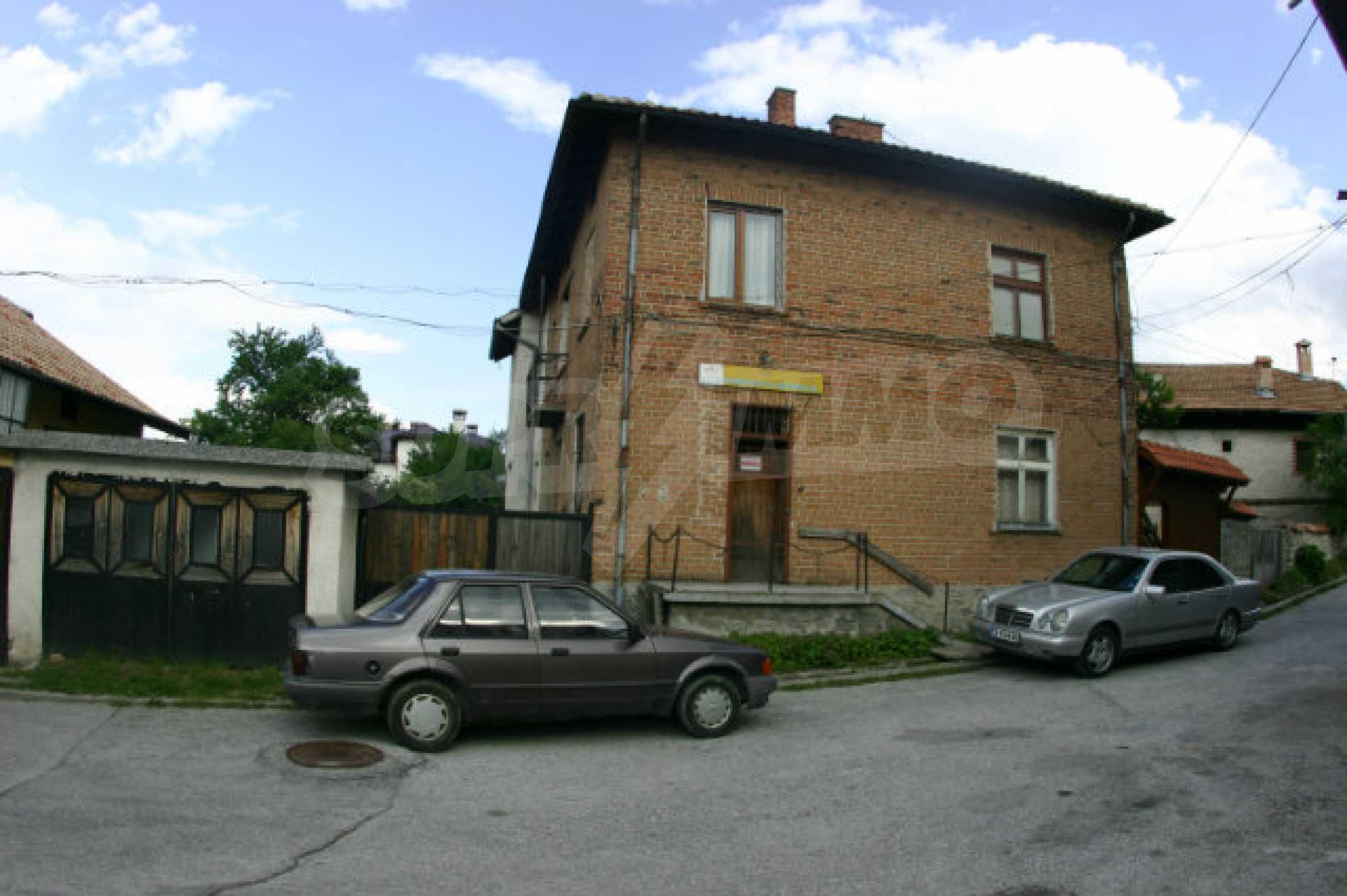 Zweistöckiges Haus in Bansko