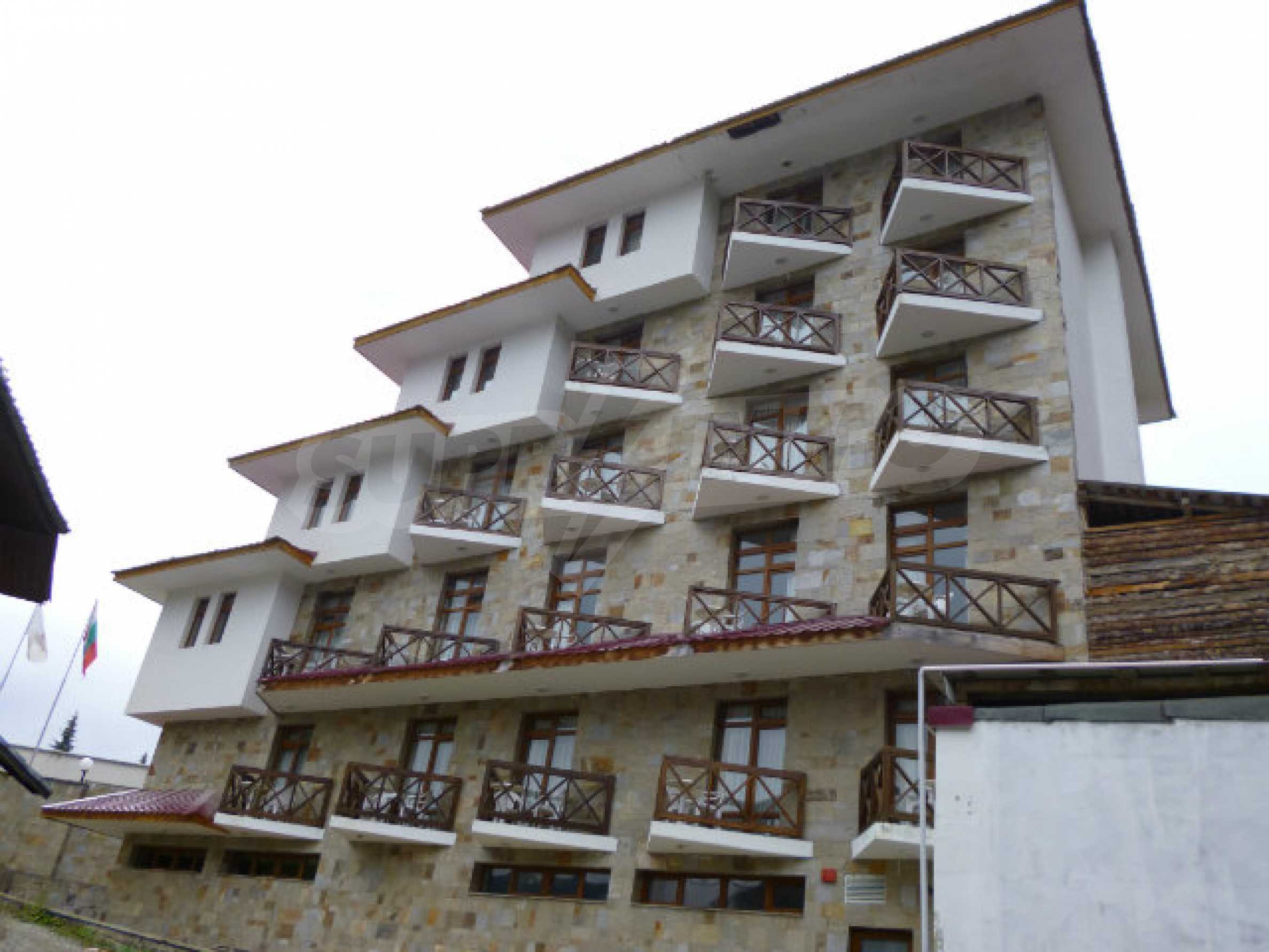 Cozy new studio in the gated complex Elina Palace in Pamporovo 1