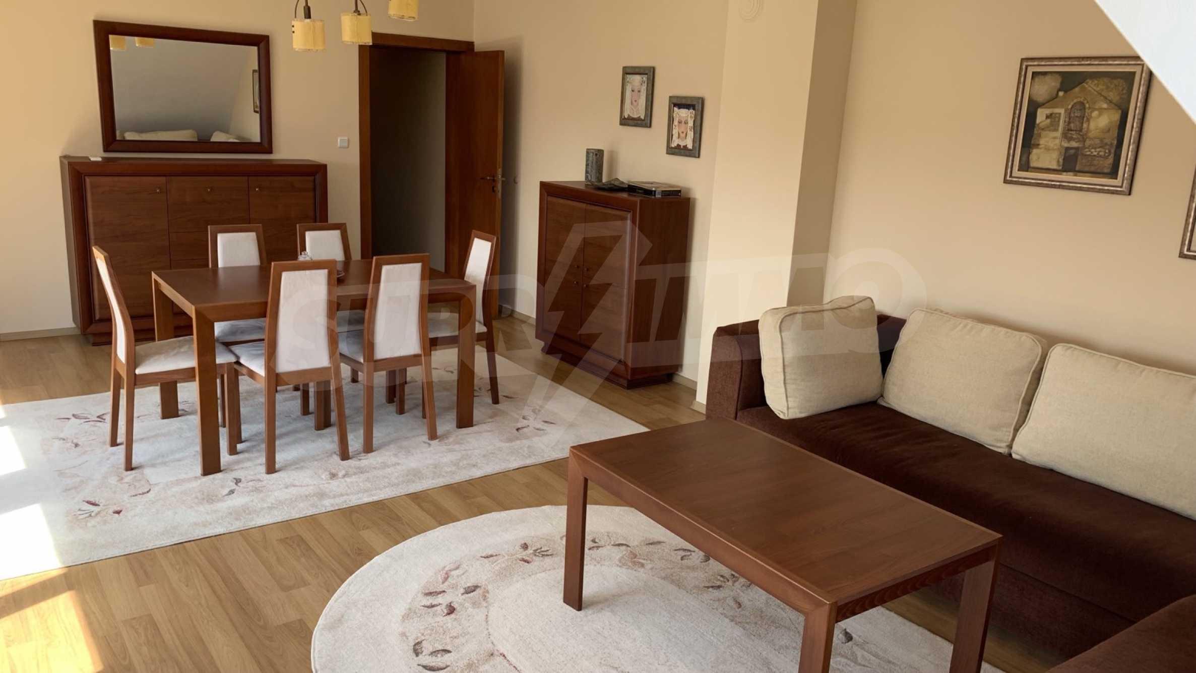 """Apartment \ """"Prism \"""" - Penthouse mit einem Schlafzimmer zur Miete im Zentrum von Varna 4"""