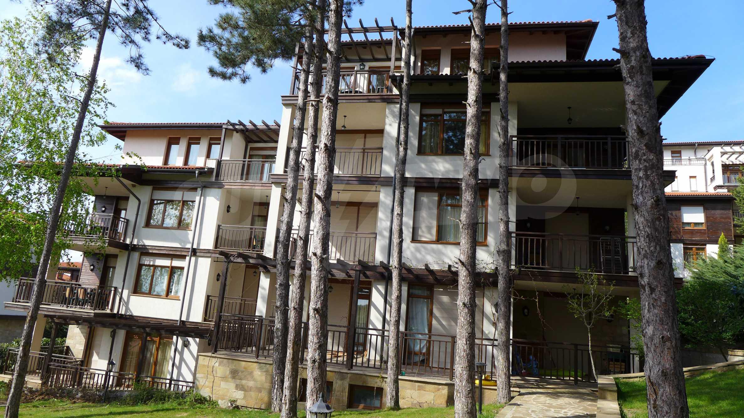 Ein-Zimmer-Wohnung in Santa Marina Komplex in Sozopol 24