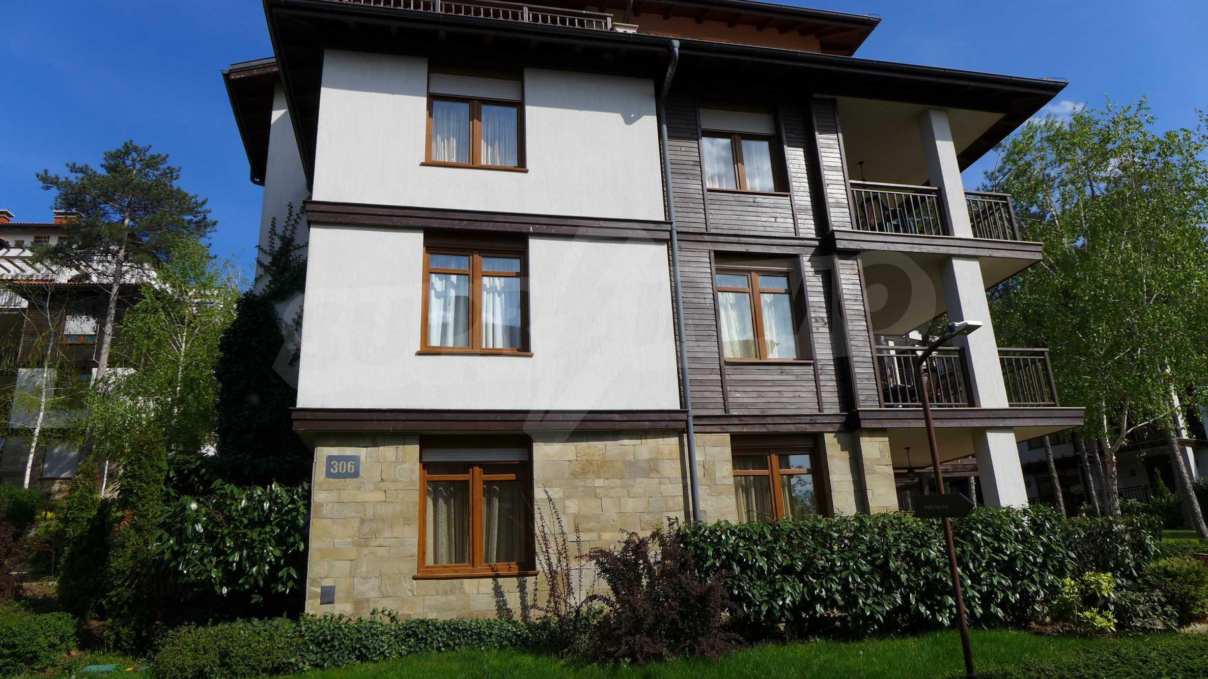 Ein-Zimmer-Wohnung in Santa Marina Komplex in Sozopol 28