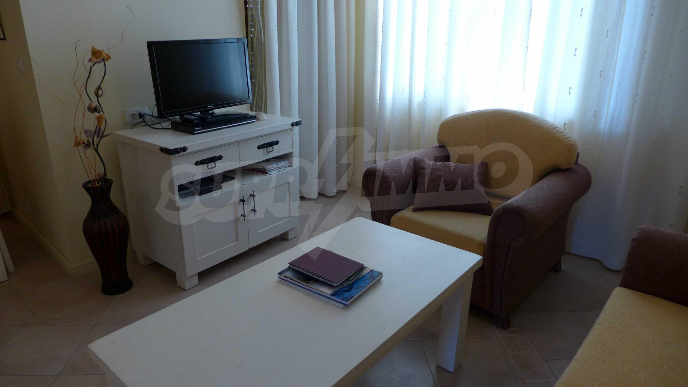 Ein-Zimmer-Wohnung in Santa Marina Komplex in Sozopol 8