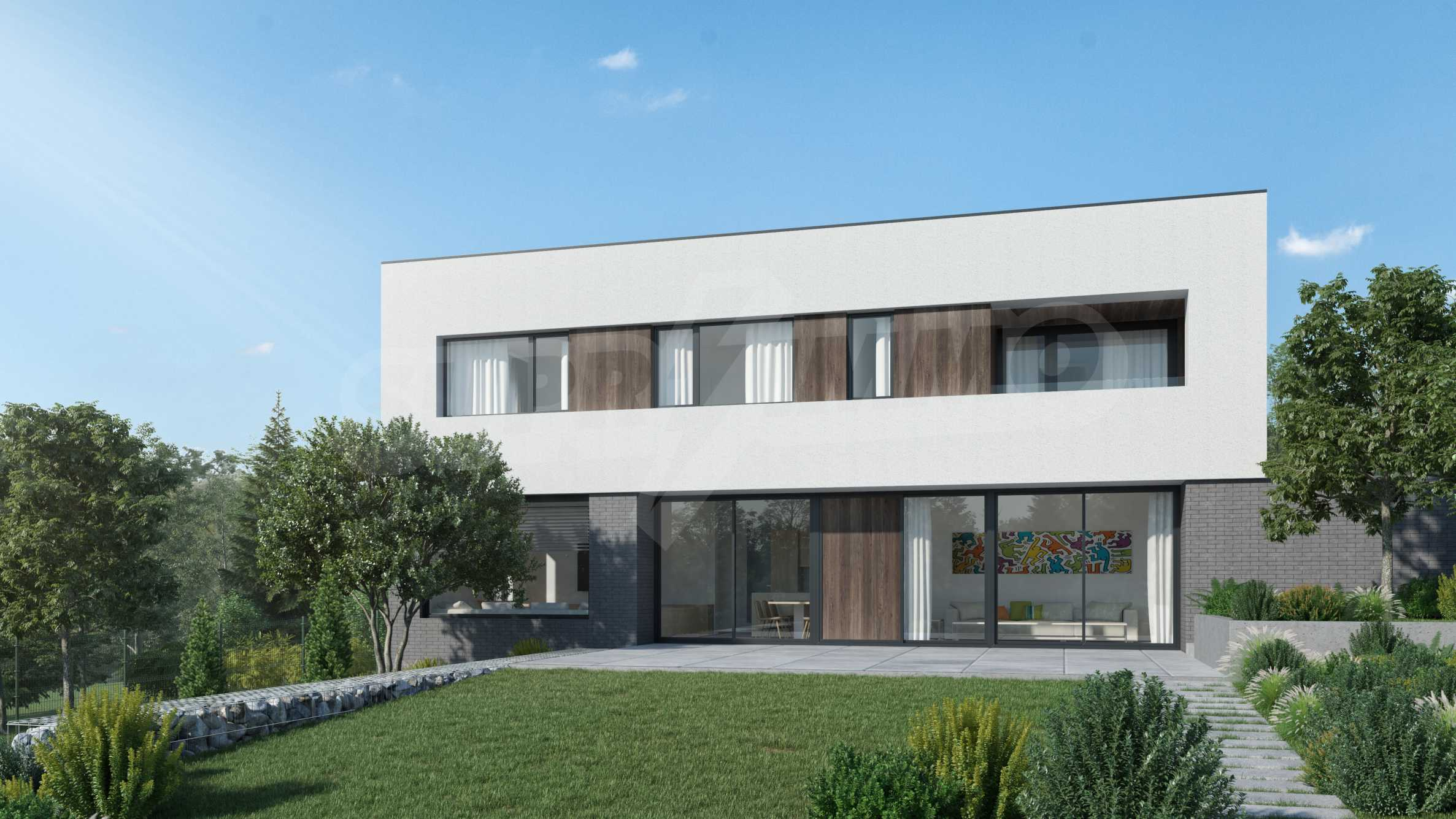 Парцел с разрешение за строеж на модерна къща в с.Големо Бучино 1