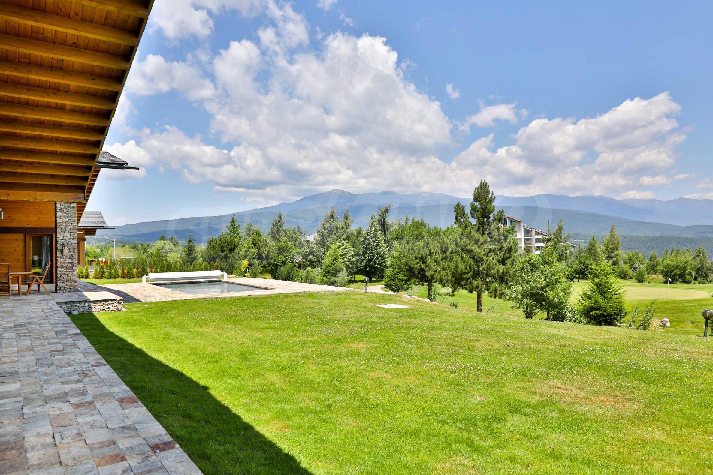 Луксозна вила под наем в  Pirin Golf & Country Club в сърцето на Пирин планина 8