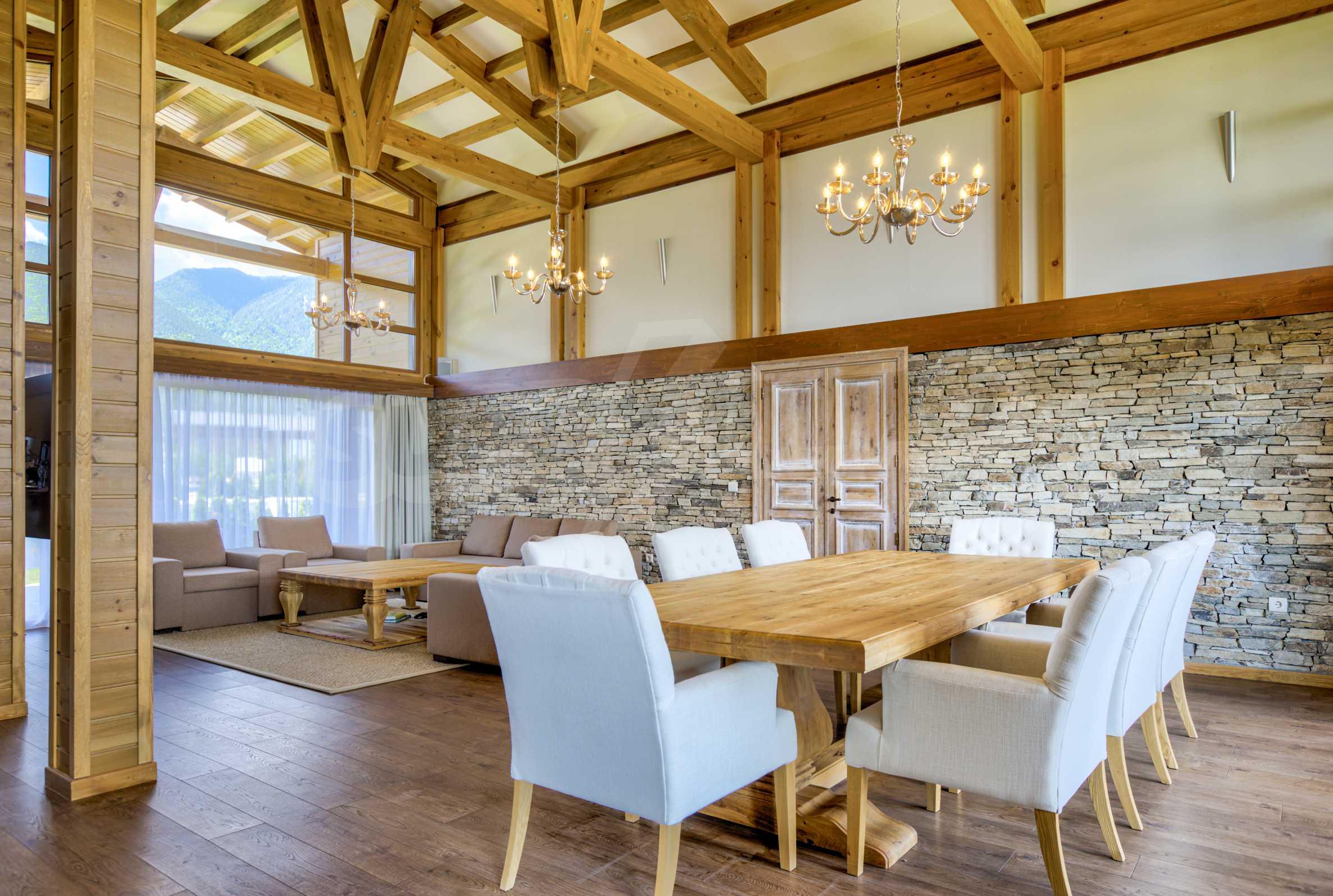 Луксозна вила под наем в  Pirin Golf & Country Club в сърцето на Пирин планина 10