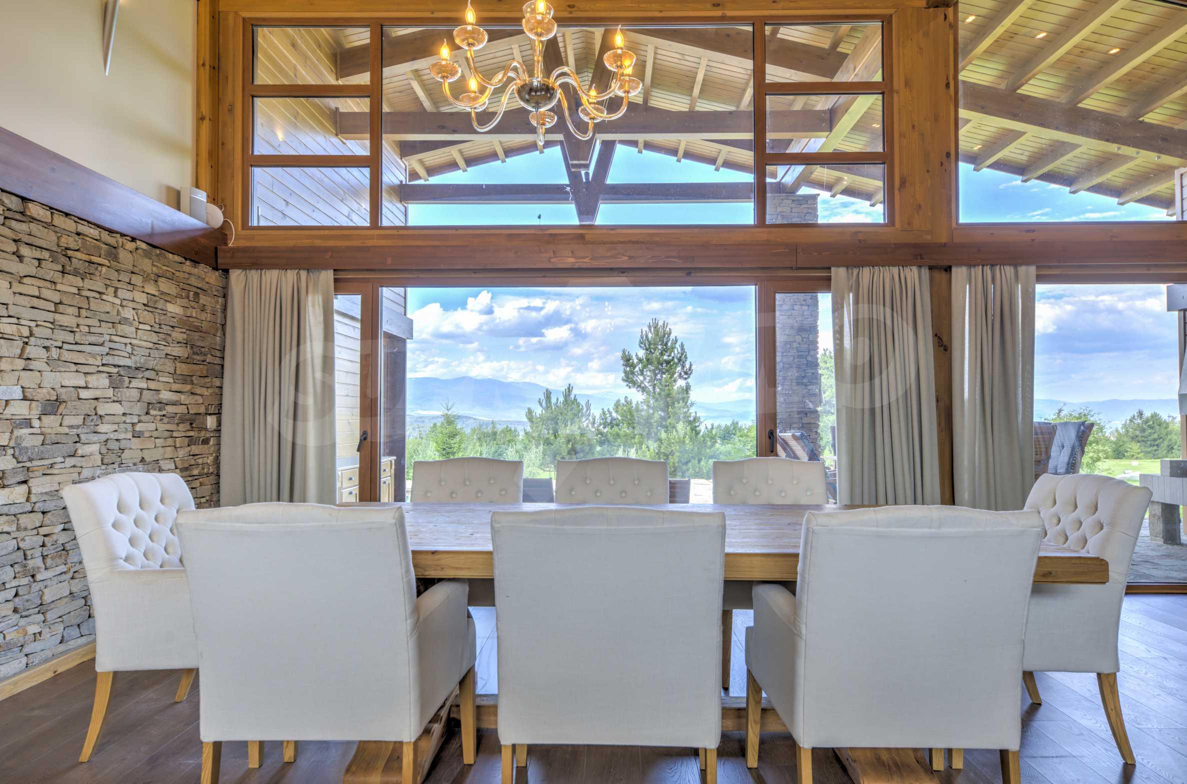 Луксозна вила под наем в  Pirin Golf & Country Club в сърцето на Пирин планина 11