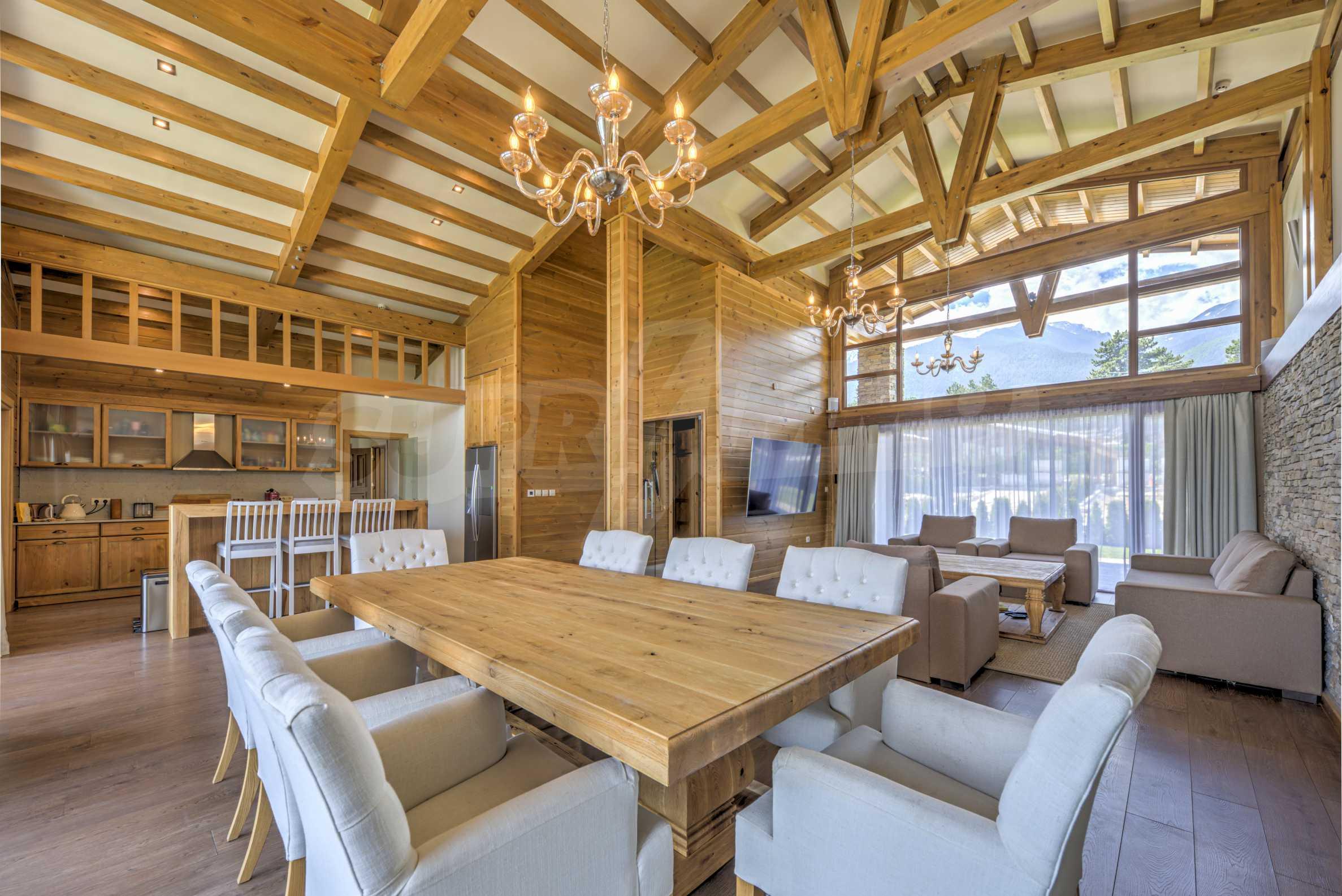 Луксозна вила под наем в  Pirin Golf & Country Club в сърцето на Пирин планина 14