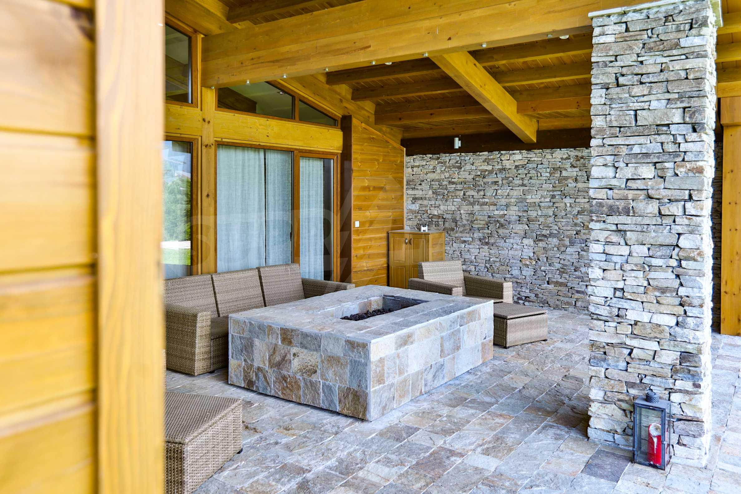 Луксозна вила под наем в  Pirin Golf & Country Club в сърцето на Пирин планина 20