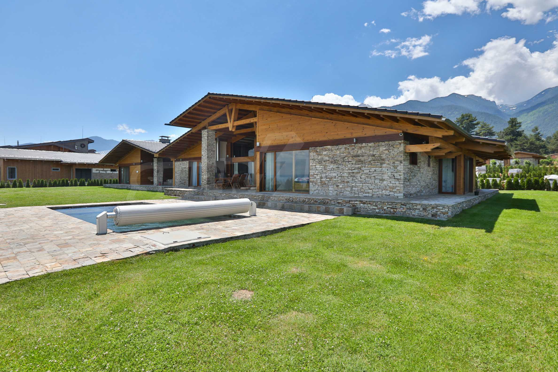 Луксозна вила под наем в  Pirin Golf & Country Club в сърцето на Пирин планина 2