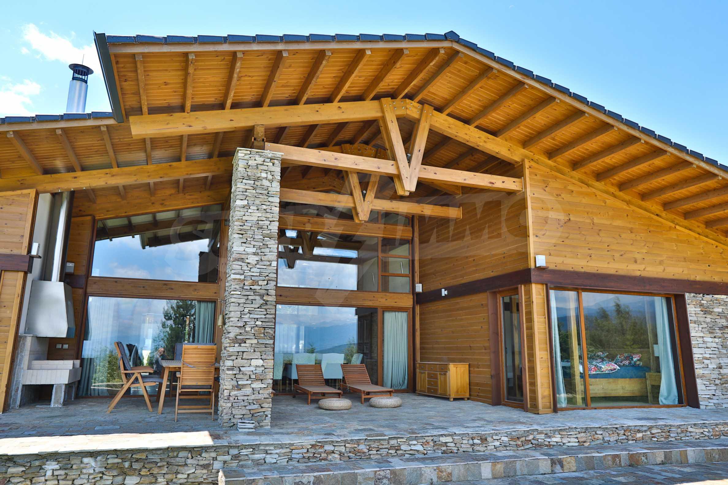 Луксозна вила под наем в  Pirin Golf & Country Club в сърцето на Пирин планина 3
