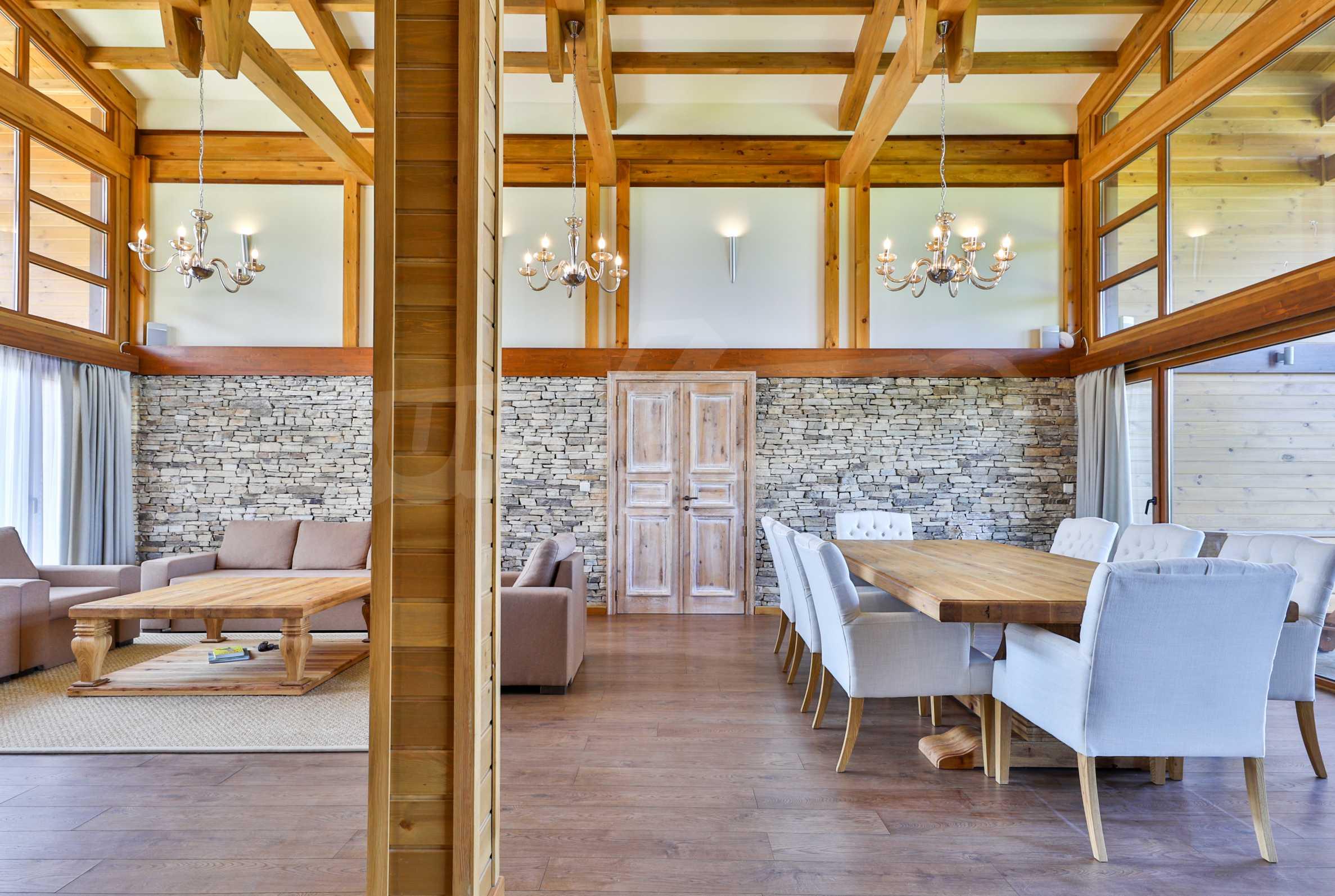 Луксозна вила под наем в  Pirin Golf & Country Club в сърцето на Пирин планина 40