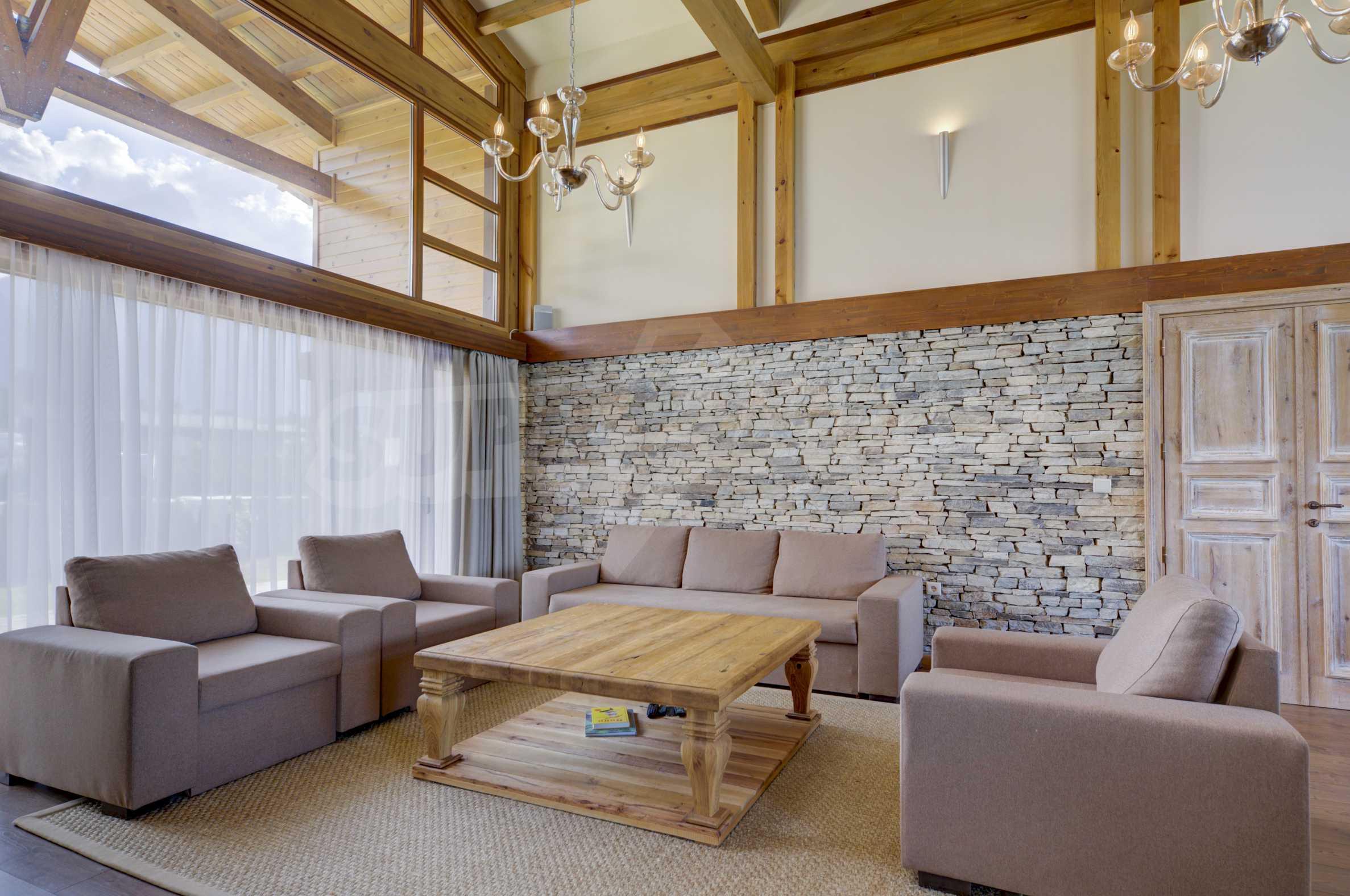 Луксозна вила под наем в  Pirin Golf & Country Club в сърцето на Пирин планина 42
