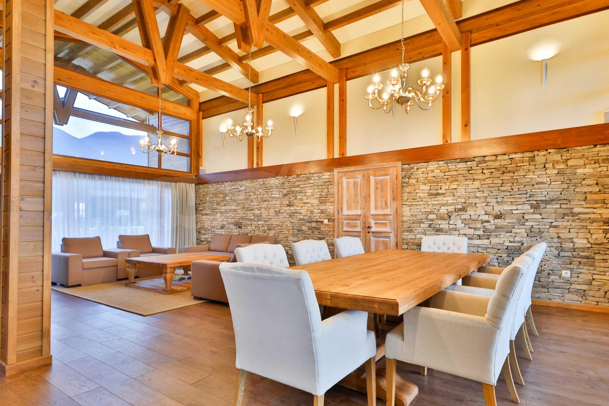 Луксозна вила под наем в  Pirin Golf & Country Club в сърцето на Пирин планина 46