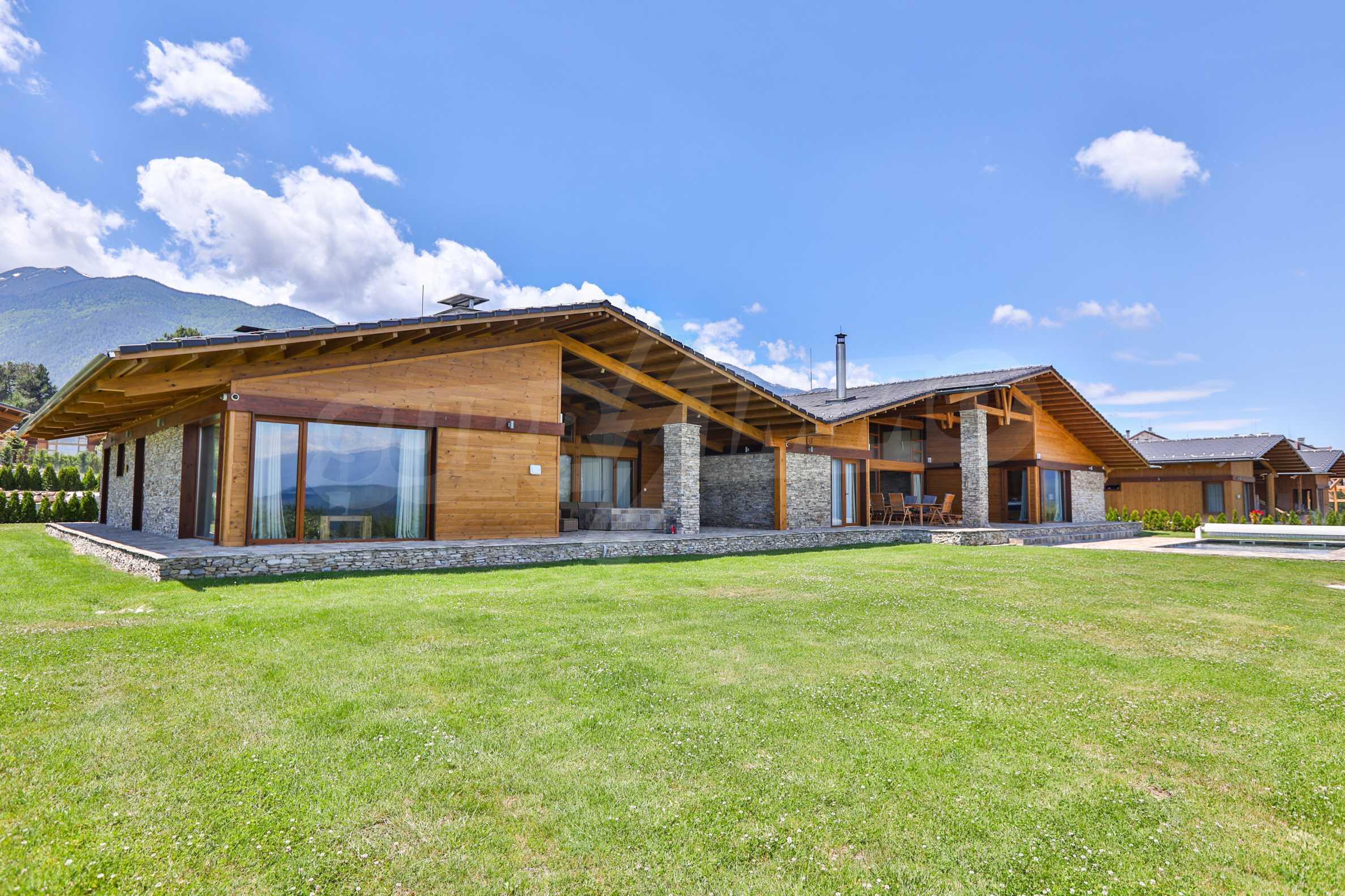 Луксозна вила под наем в  Pirin Golf & Country Club в сърцето на Пирин планина 4
