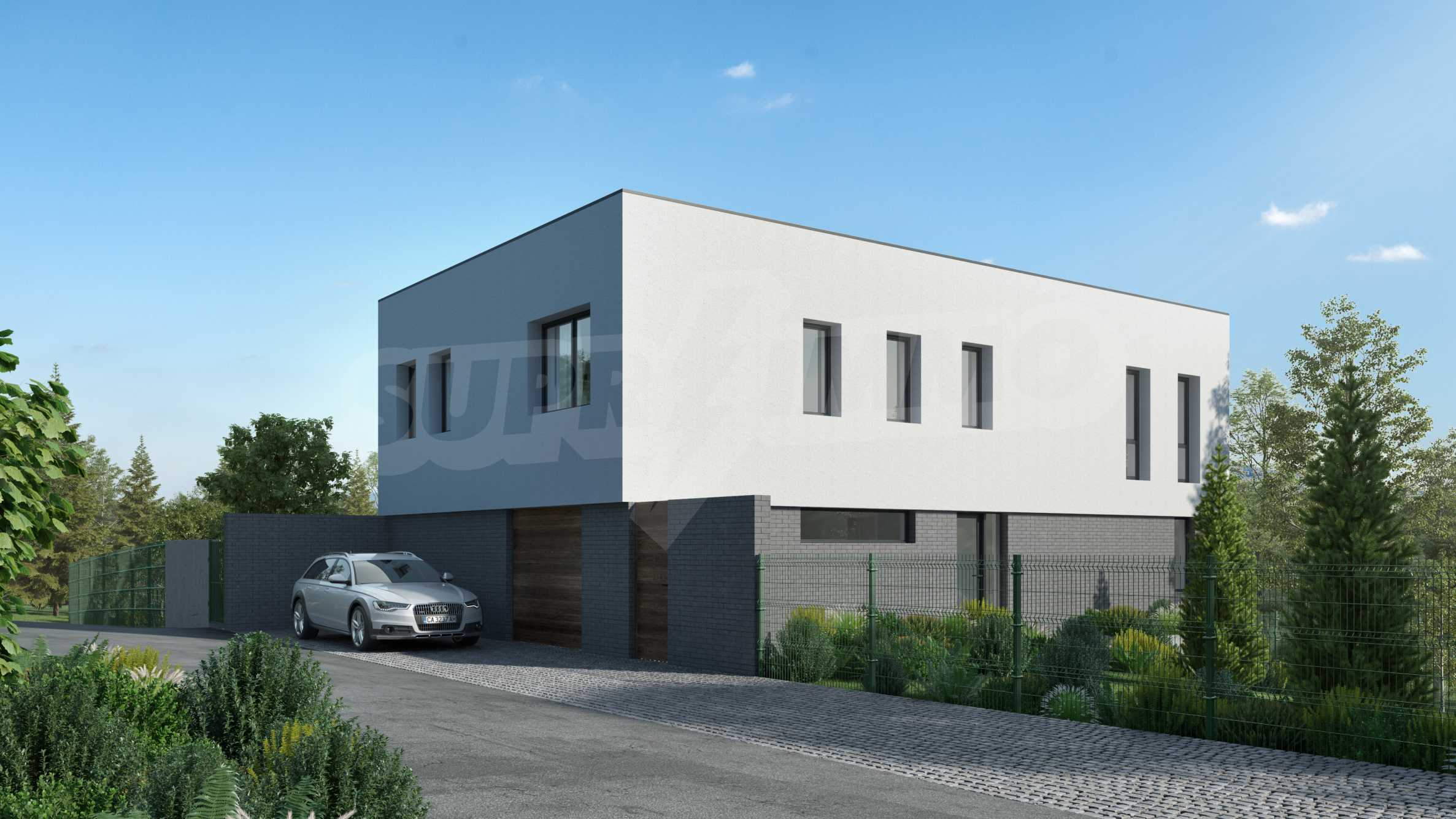 Plot of land with permission for construction of a modern house in the village of Golemo Buchino 2