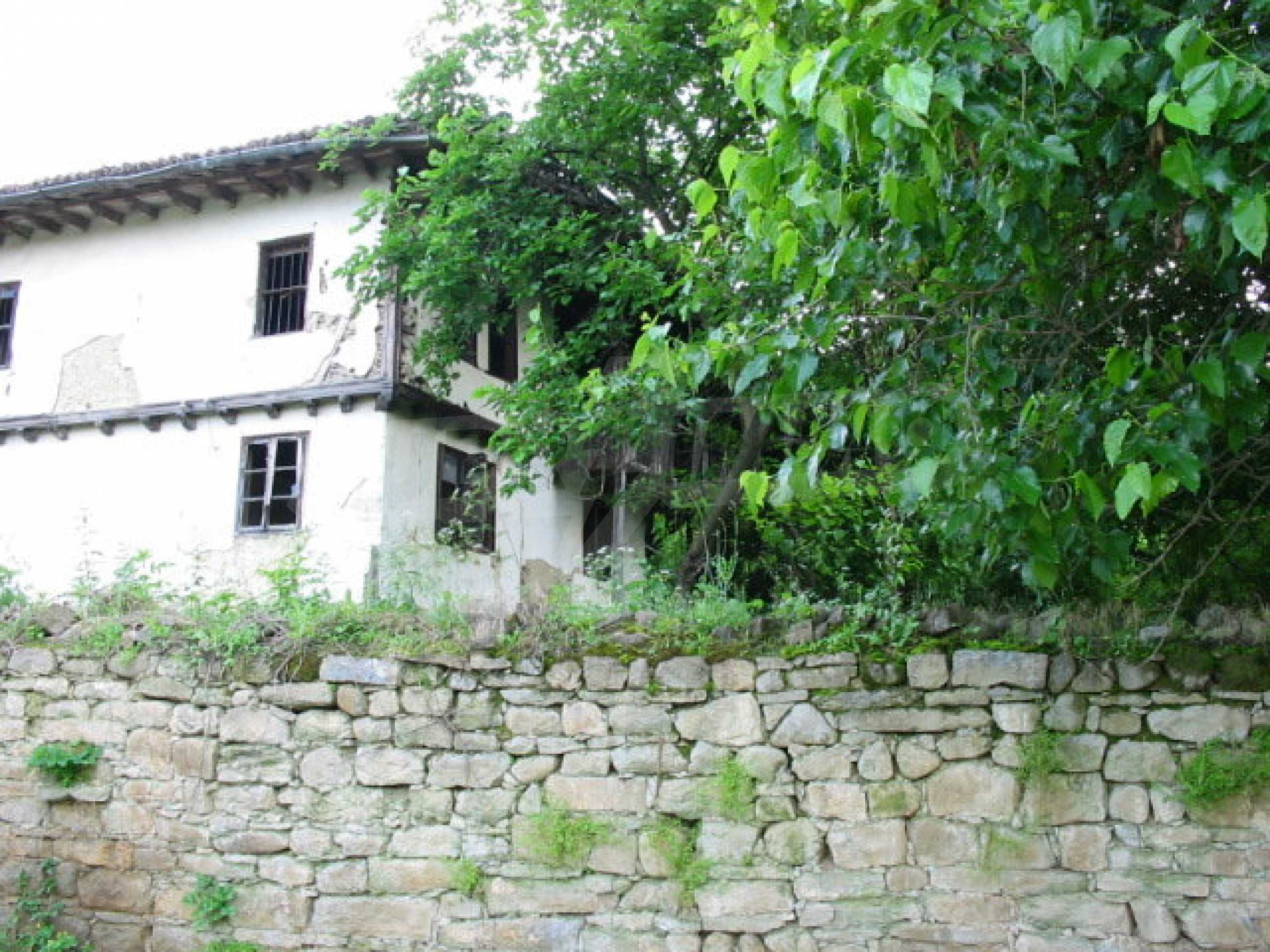 Two-storey traditional house for renovation in Mindya village  17