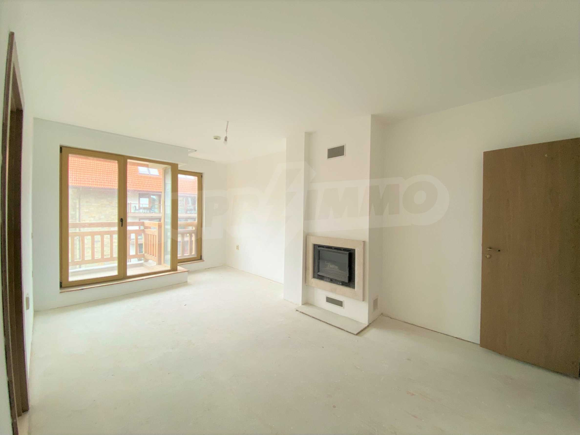 Spacious one-bedroom apartment amidst beautiful and clean nature with two balconies
