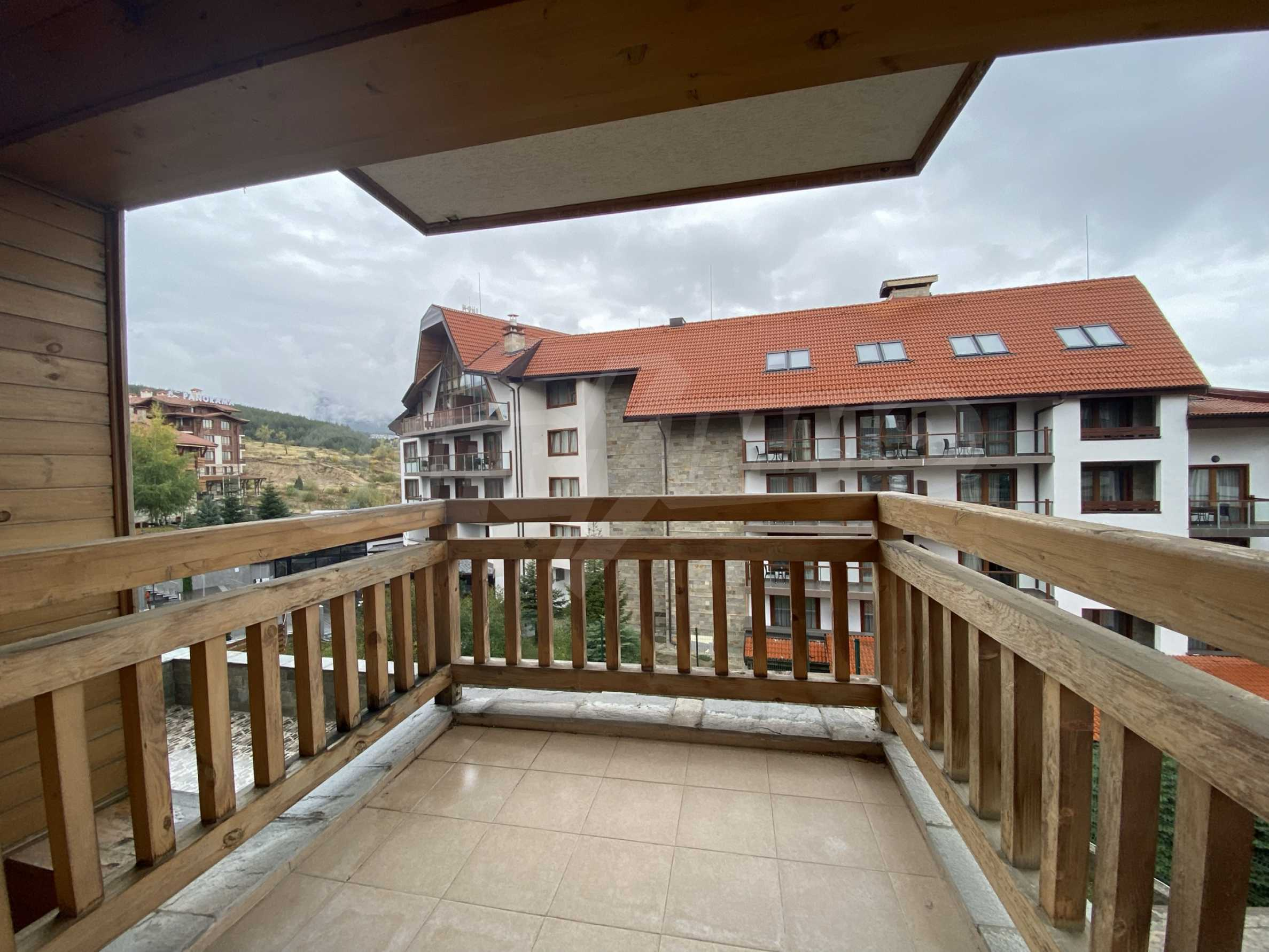 Spacious one-bedroom apartment amidst beautiful and clean nature with two balconies 11