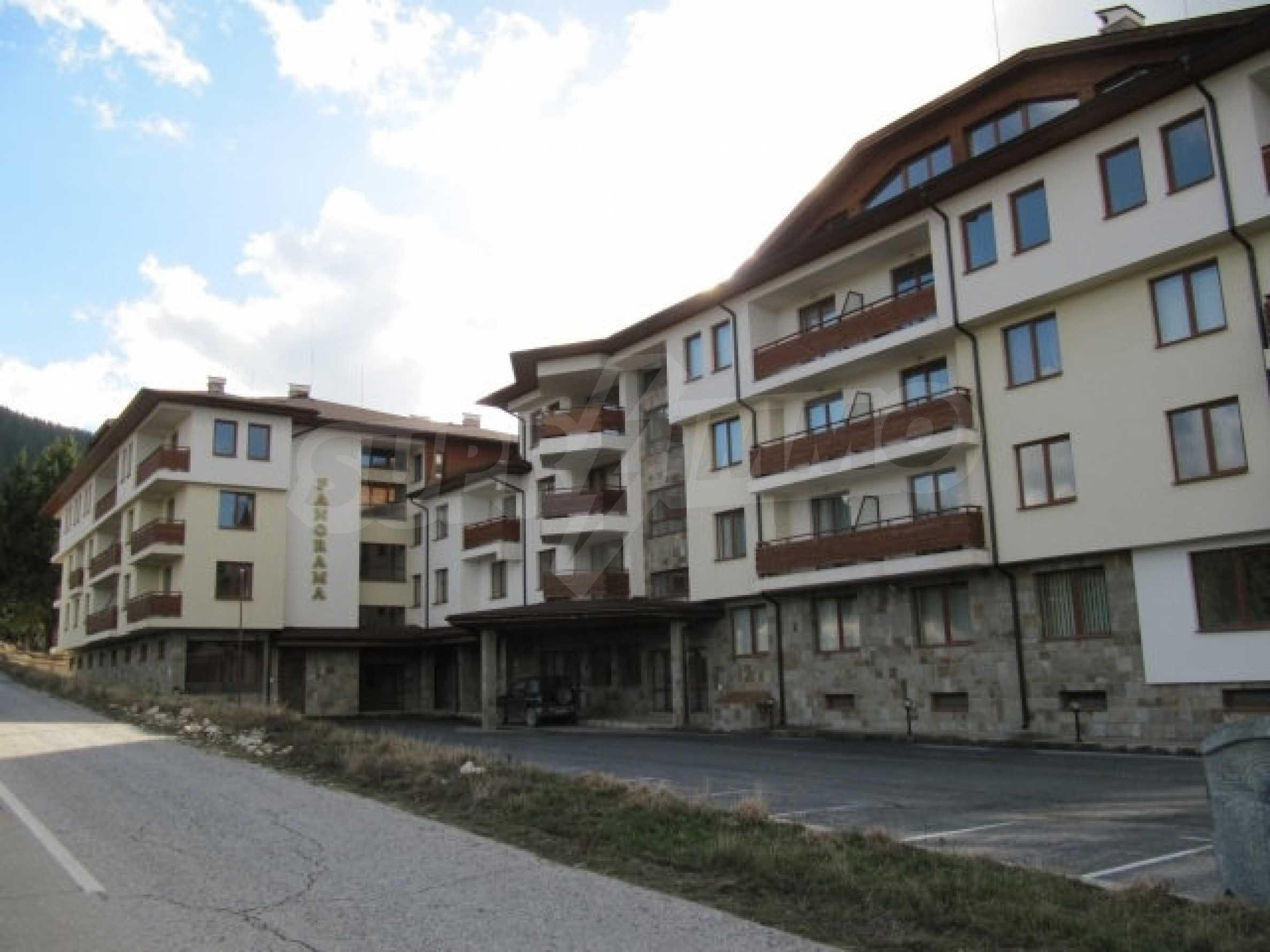 Apartment mit zwei Schlafzimmern im Panoramakomplex