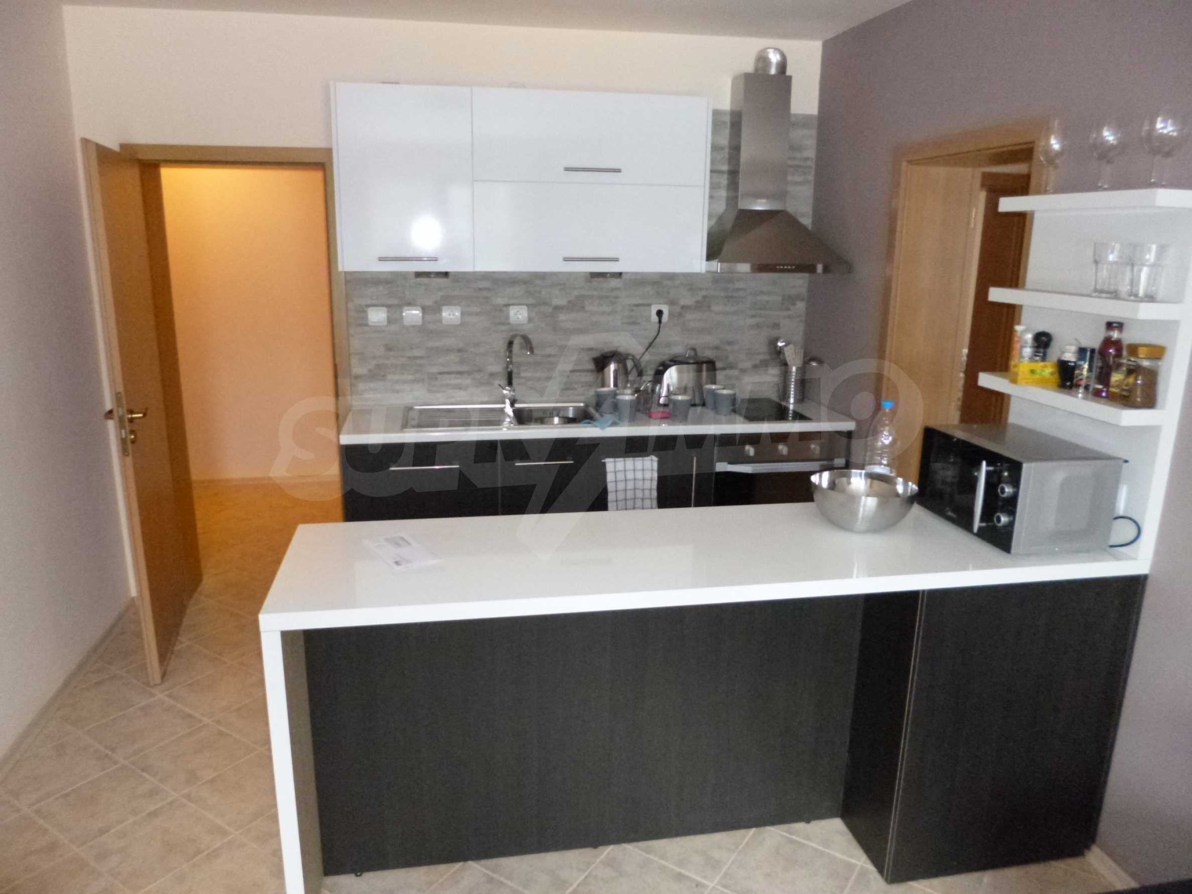 Apartment mit zwei Schlafzimmern im Panoramakomplex 4