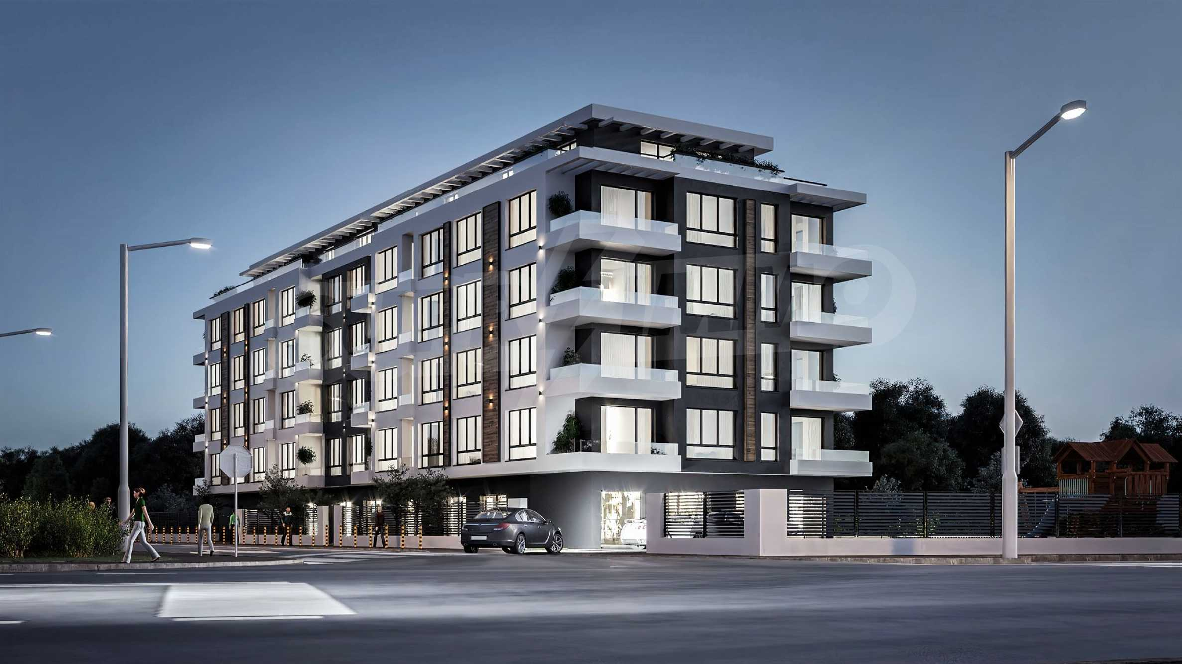New apartments in a boutique building near Retail Park