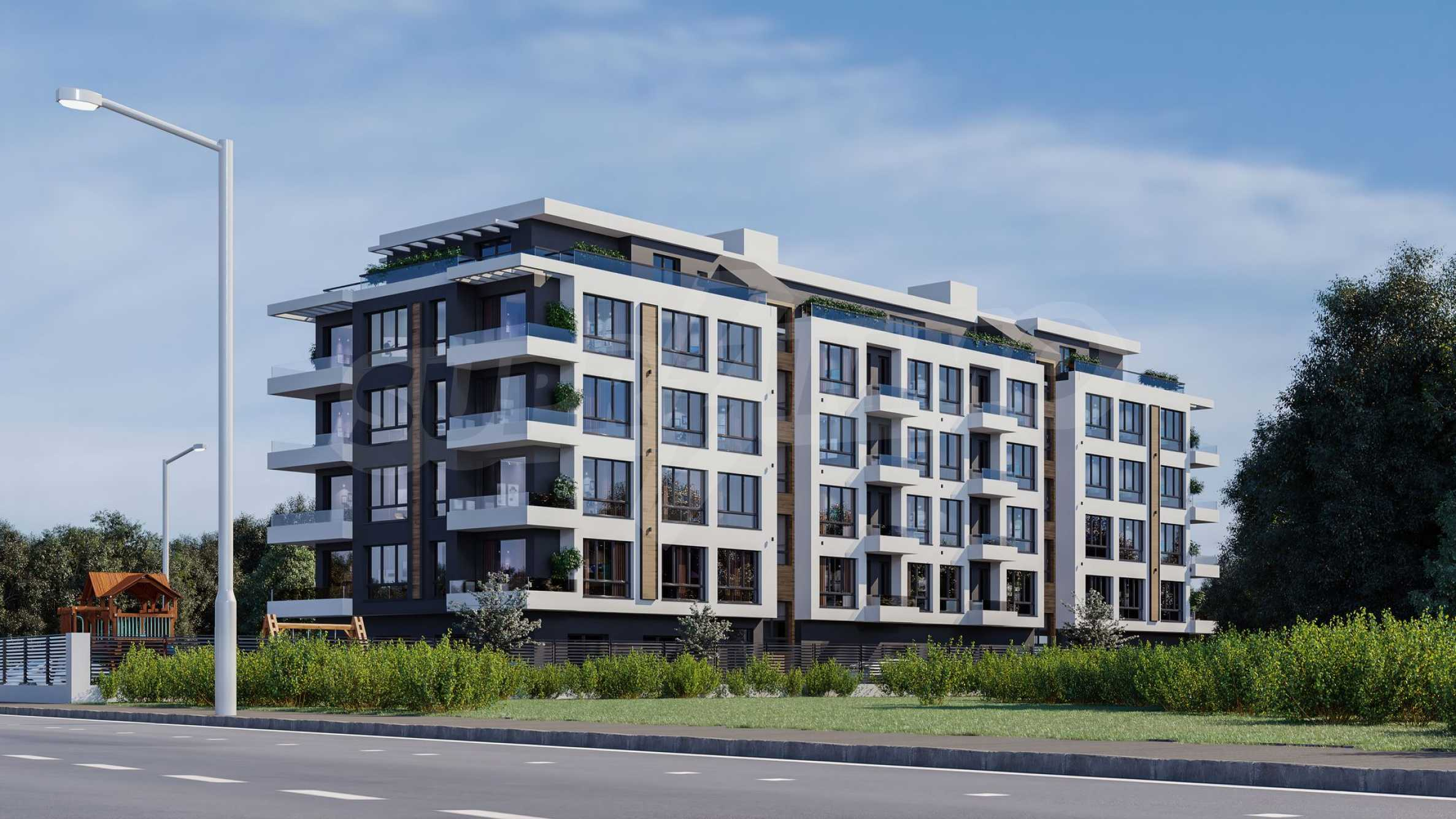 New apartments in a boutique building near Retail Park 2