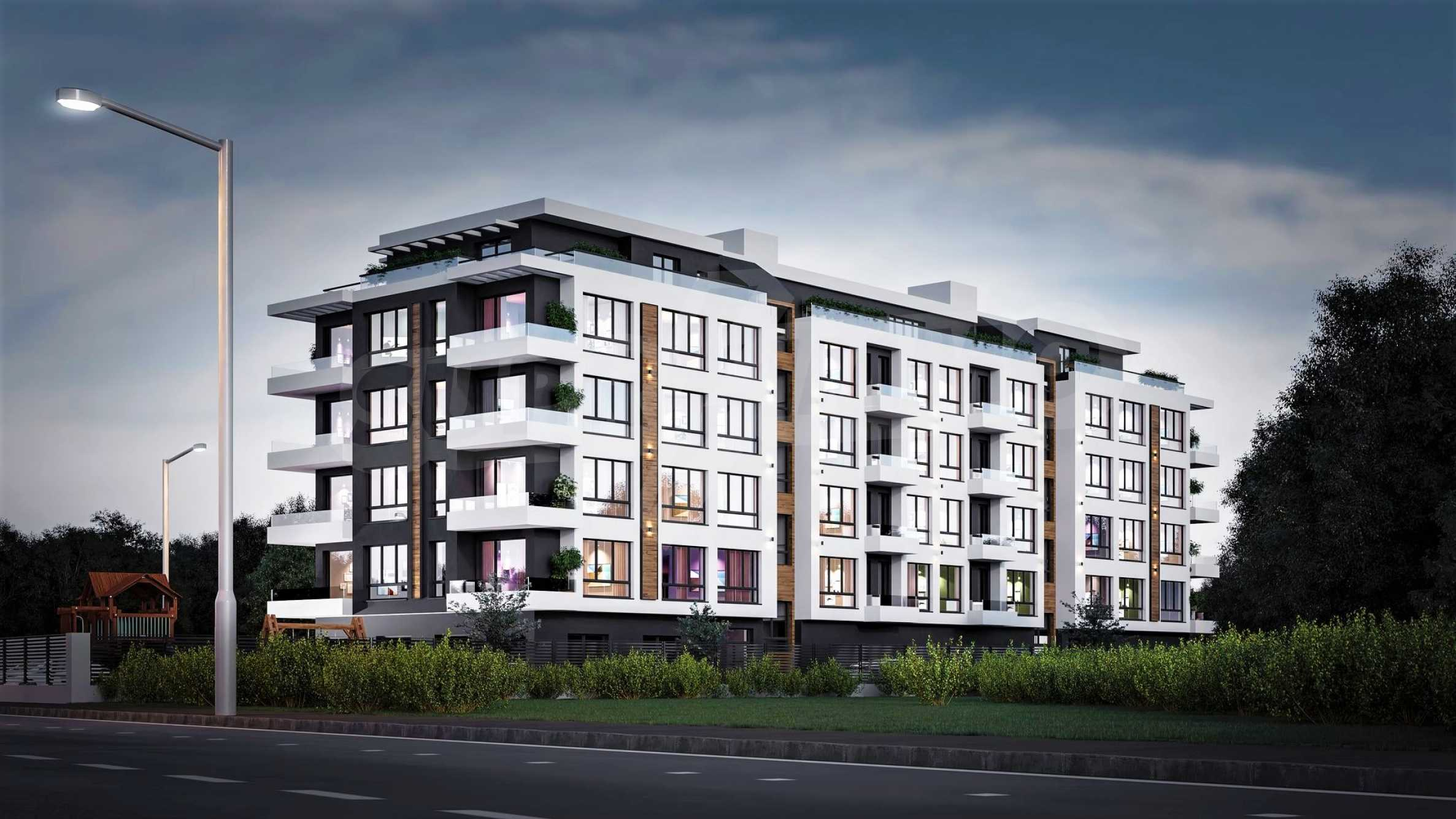 New apartments in a boutique building near Retail Park 5