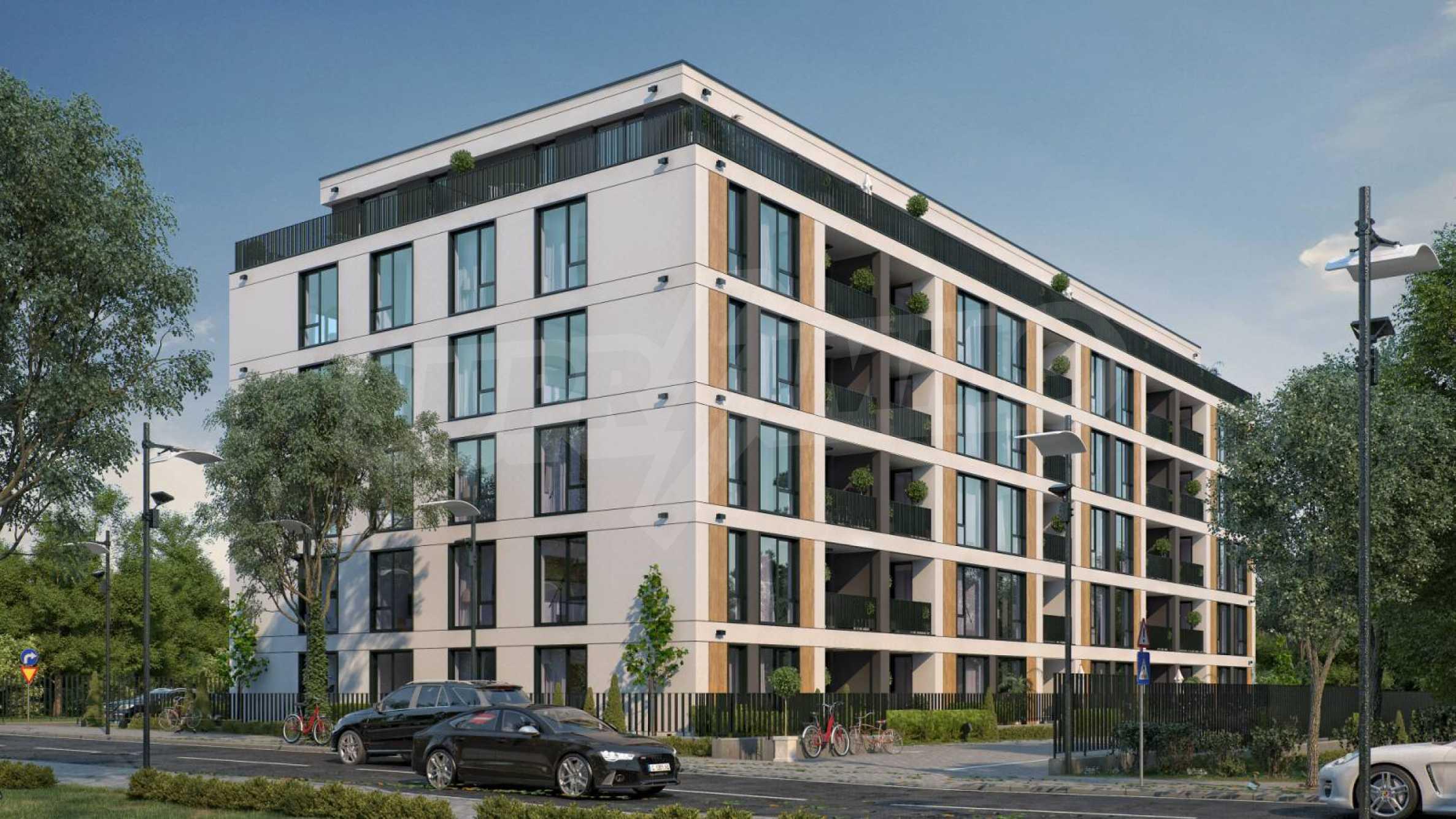Neue Wohnungen zu günstigen Preisen in einem Neubau Comfort Residence in Sofia
