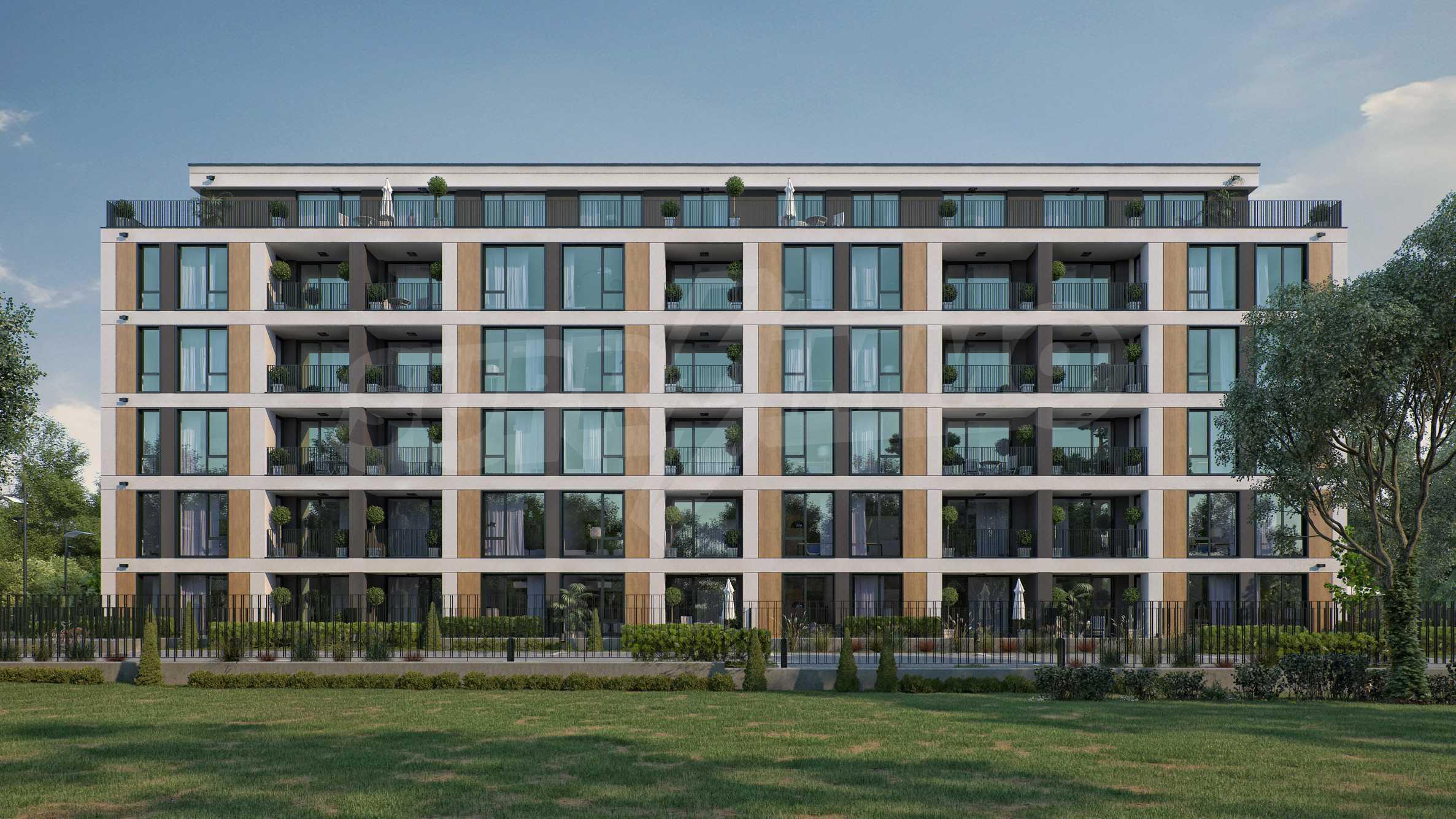 Neue Wohnungen zu günstigen Preisen in einem Neubau Comfort Residence in Sofia 1