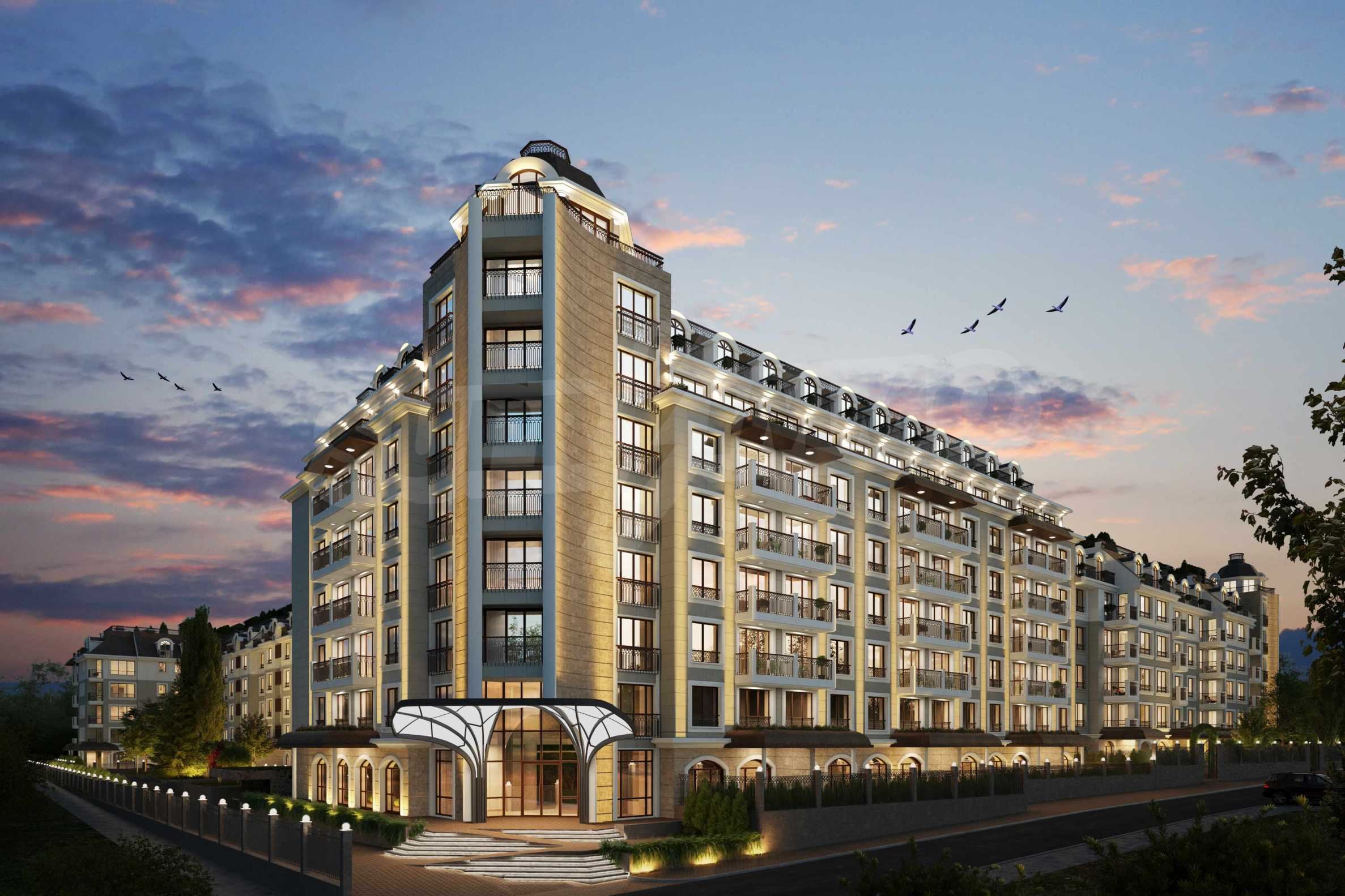 Wohnkomplex mit Park und Annehmlichkeiten der höchsten Klasse neben der Paradise Mall 9