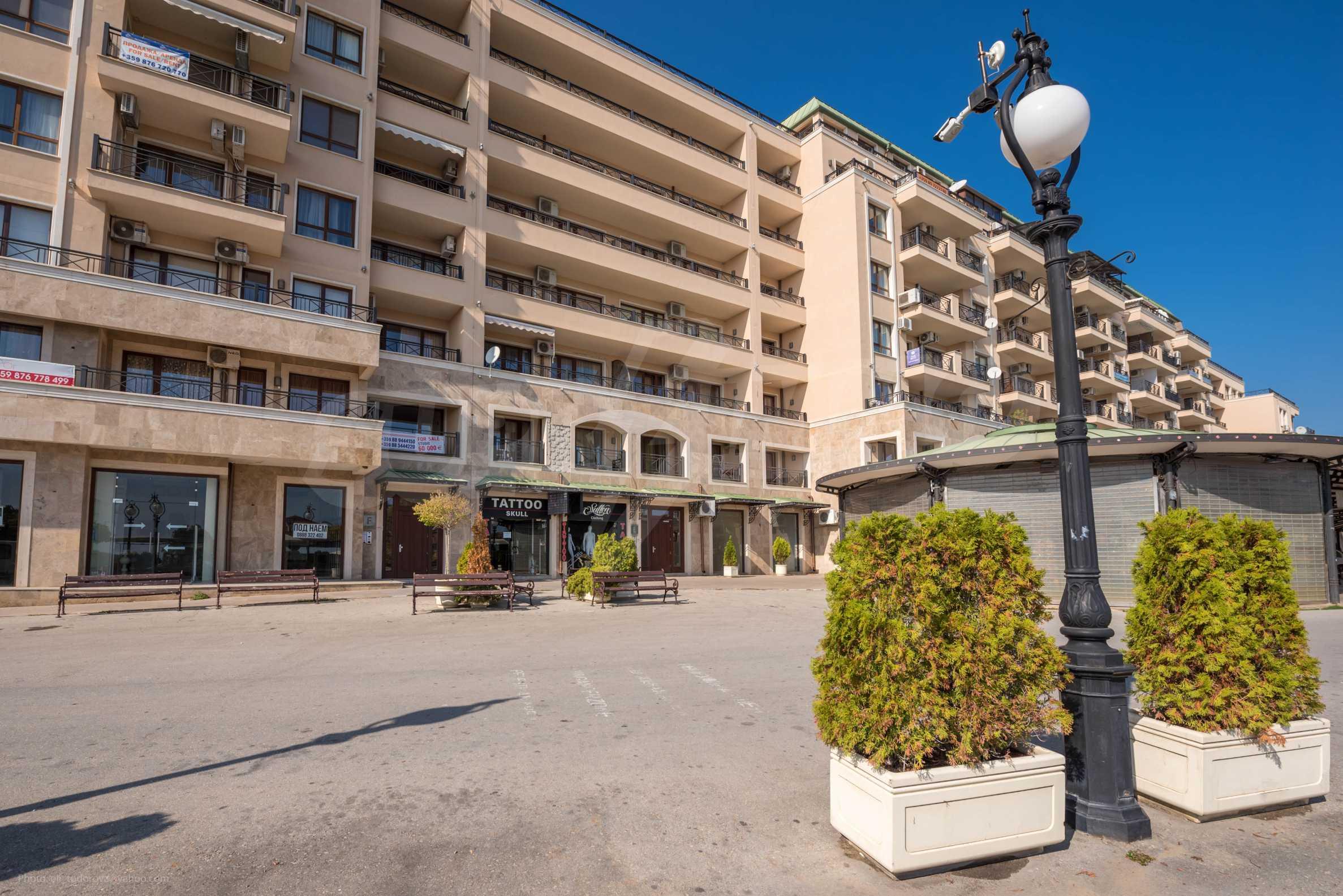 Апартамент 1-st line sea 24
