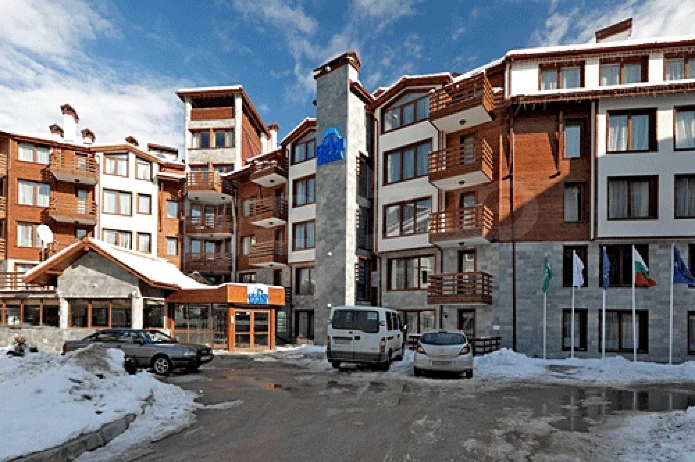 Комфортабельный апартамент в лыжном курорте 8