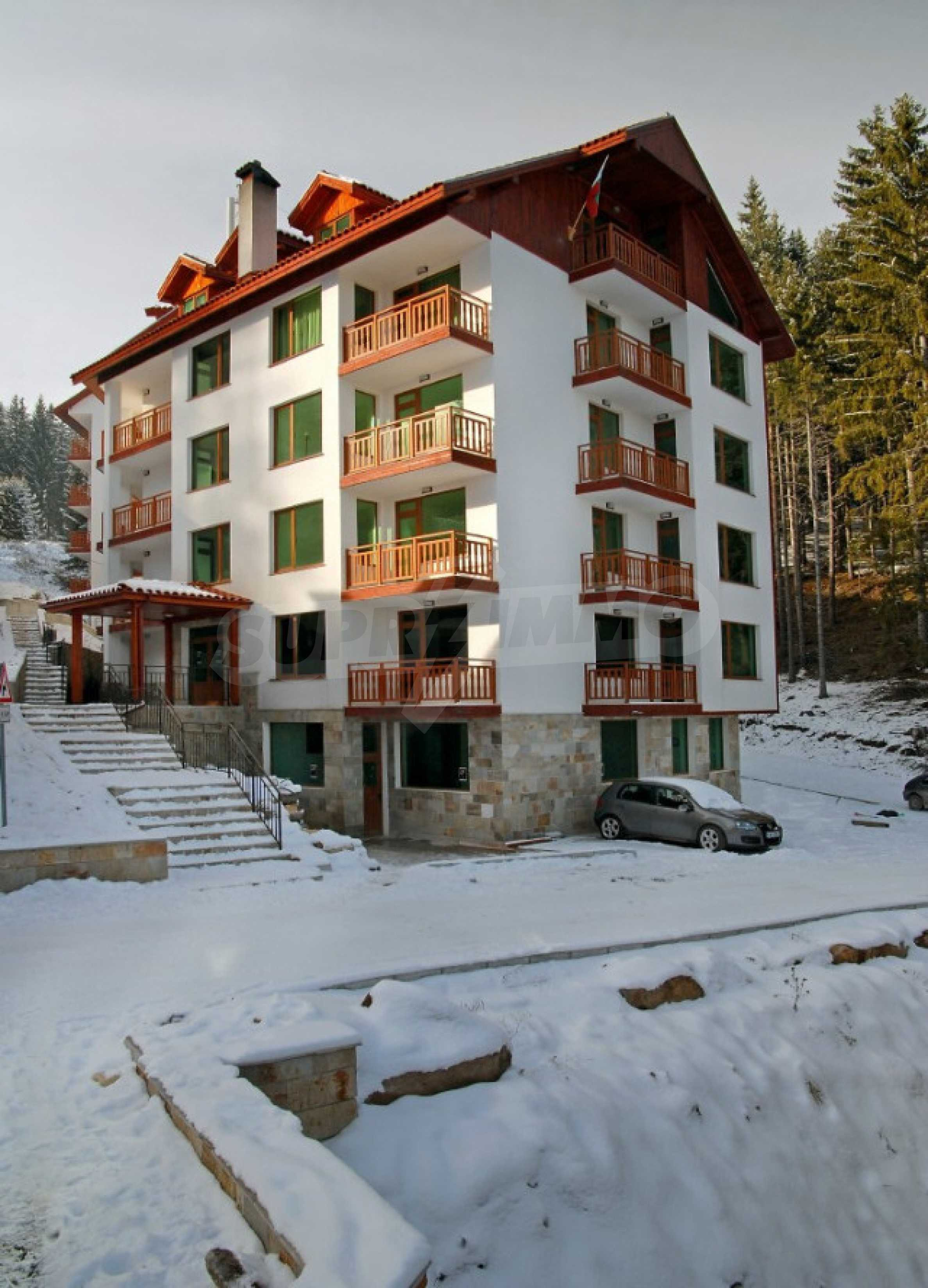 Apartments zu attraktiven Preisen in einem Bergferienkomplex in Pamporovo 1