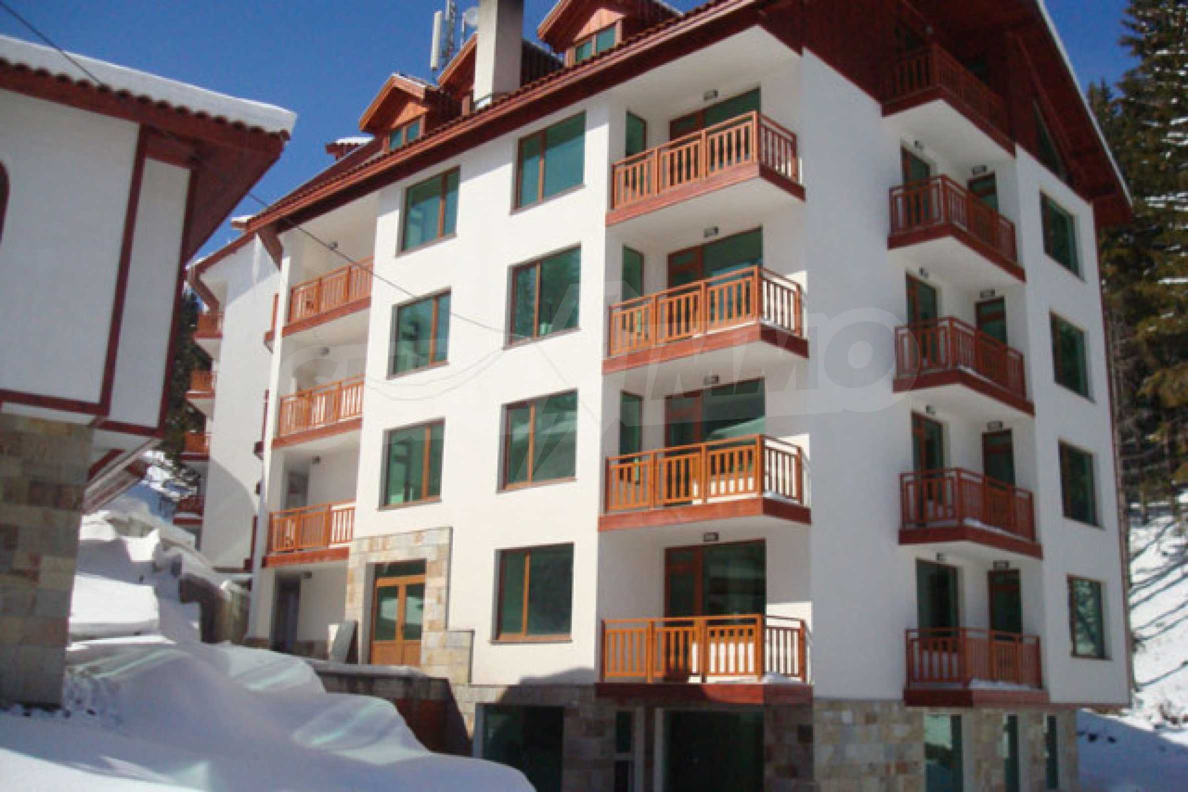 Apartments zu attraktiven Preisen in einem Bergferienkomplex in Pamporovo 4