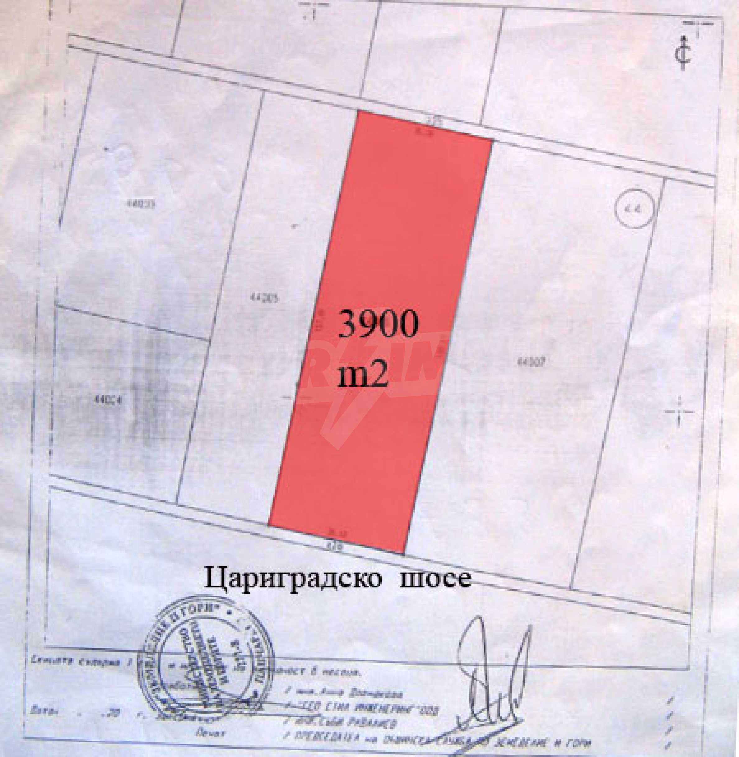 Plot of land on Tsarigradsko shose, Sofia