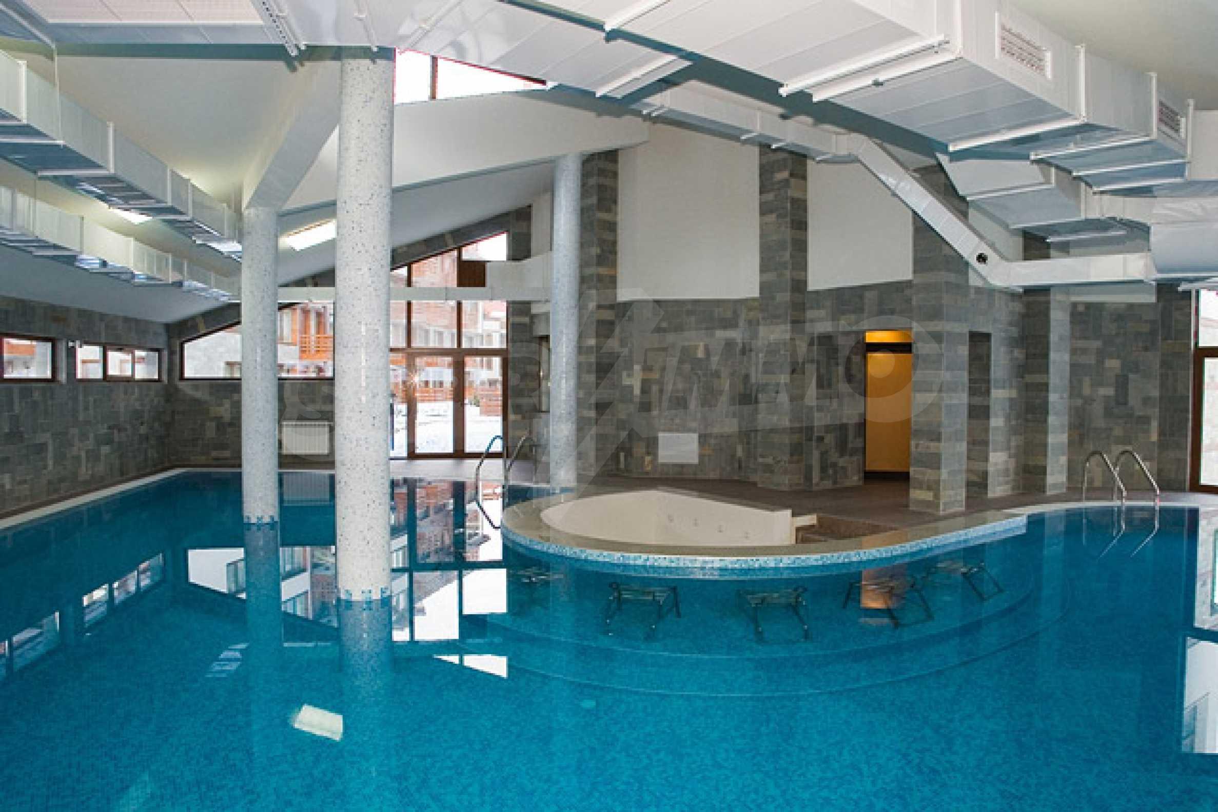 Двухкомнатная квартира на продажу на курорте Банско 15