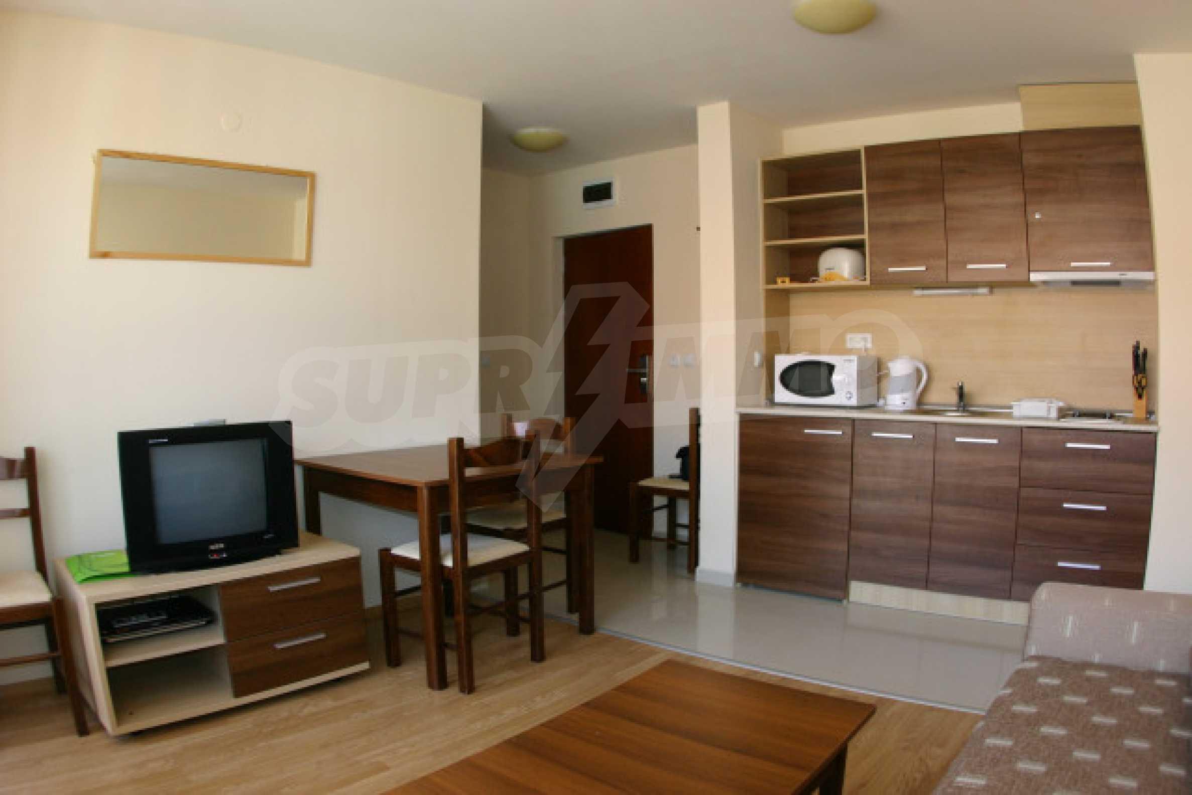 Двухкомнатная квартира на продажу на курорте Банско 1